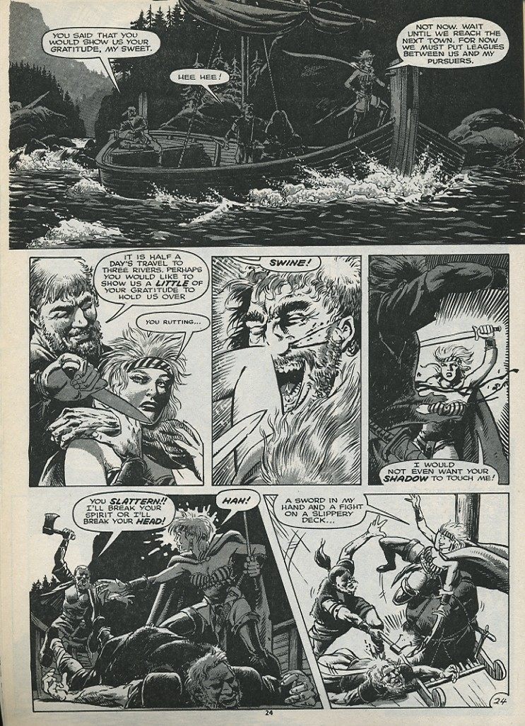 The Savage Sword Of Conan Issue #179 #180 - English 26