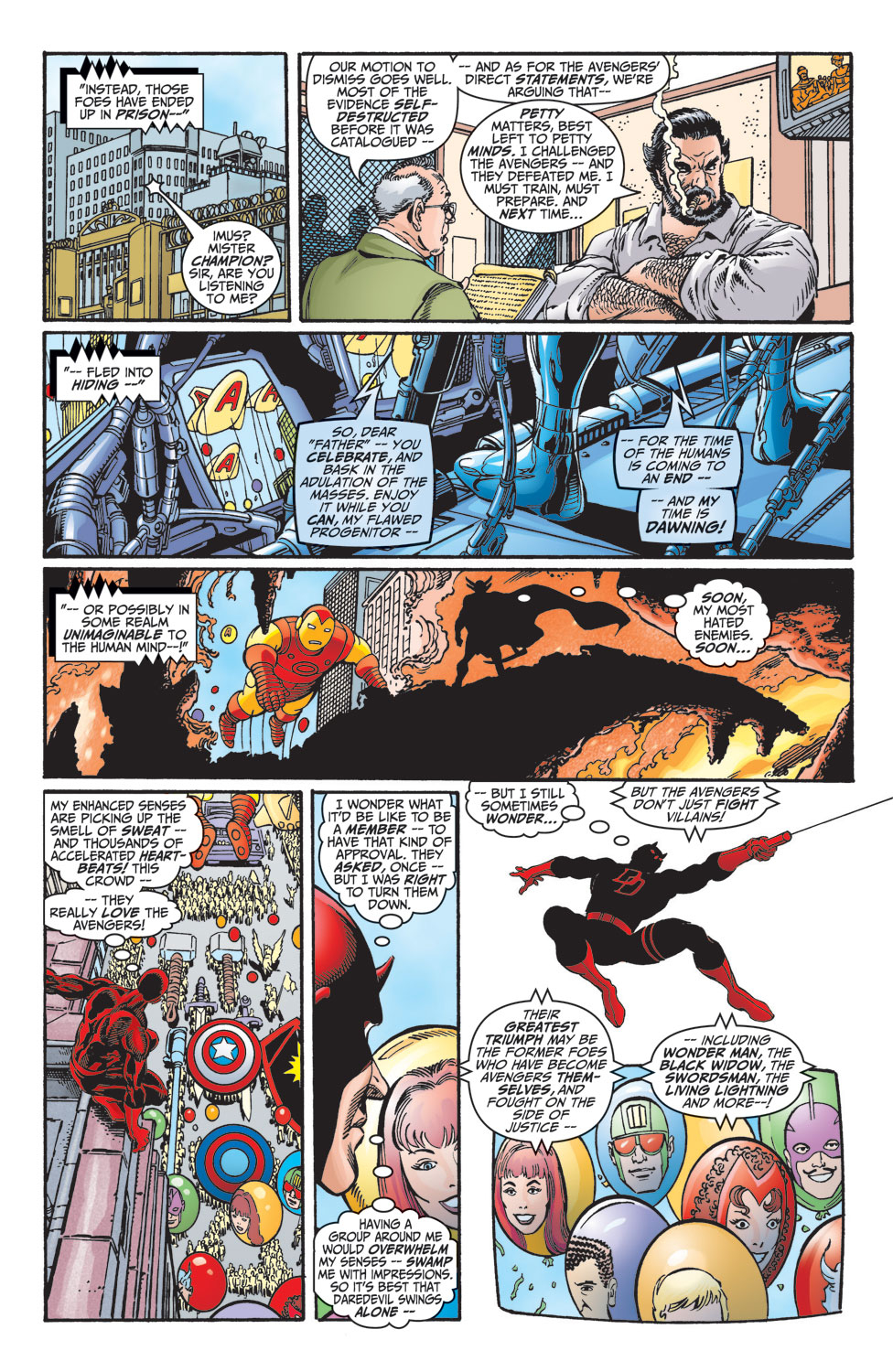 Read online Avengers (1998) comic -  Issue #10 - 12