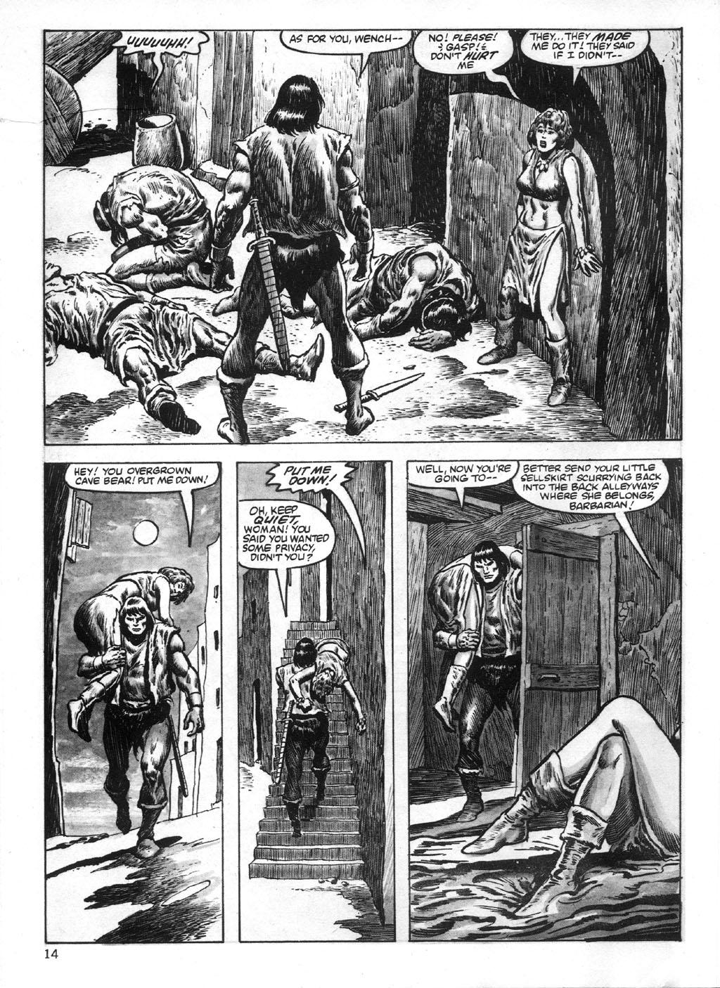 The Savage Sword Of Conan Issue #95 #96 - English 14