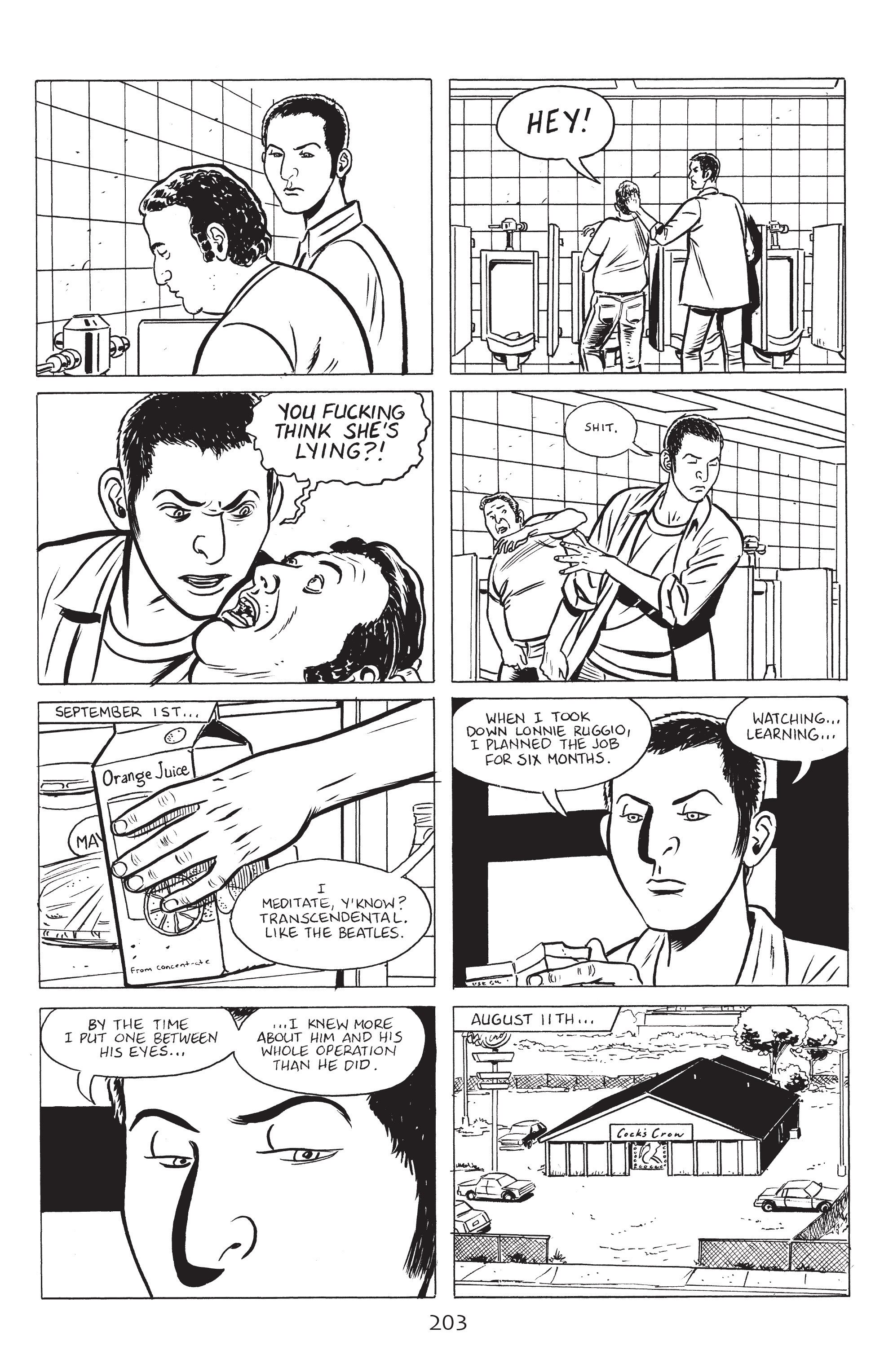 Read online Stray Bullets: Sunshine & Roses comic -  Issue #8 - 9