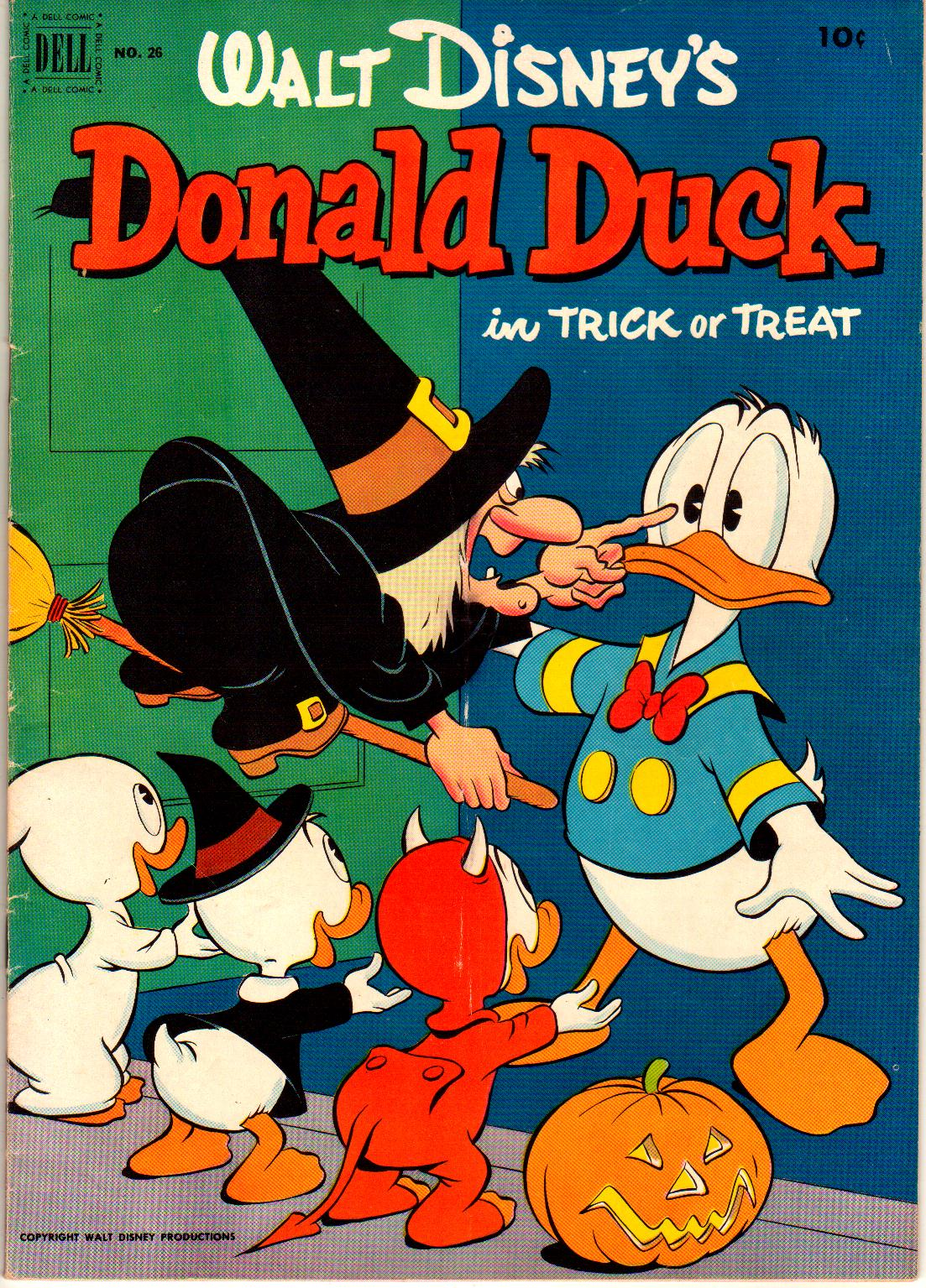 Read online Walt Disney's Donald Duck (1952) comic -  Issue #26 - 1