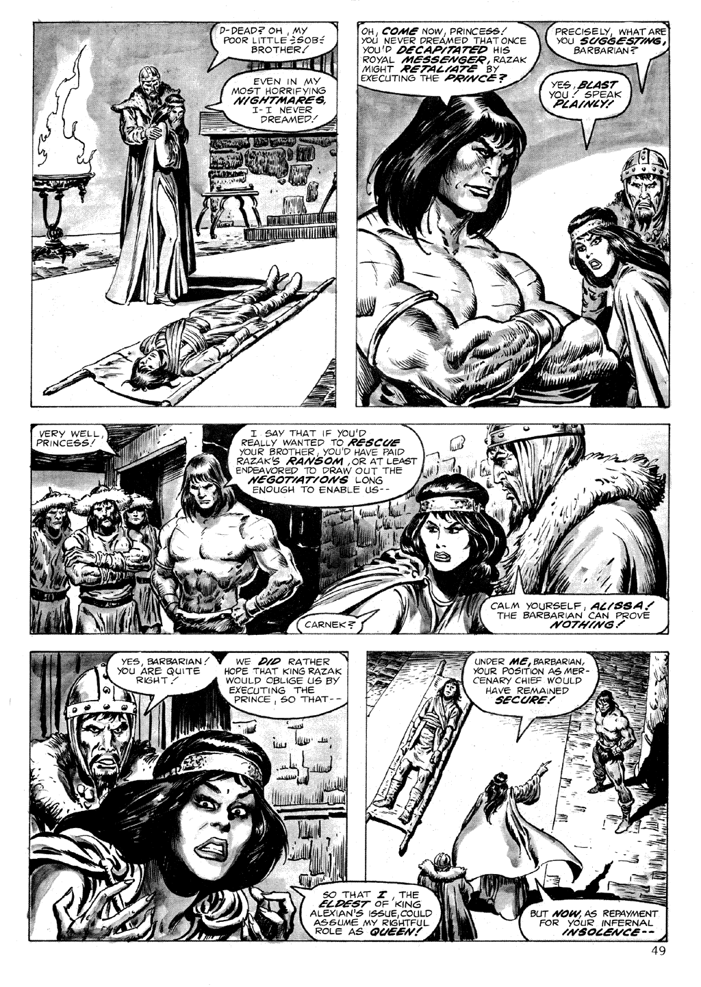 The Savage Sword Of Conan Issue #71 #72 - English 49