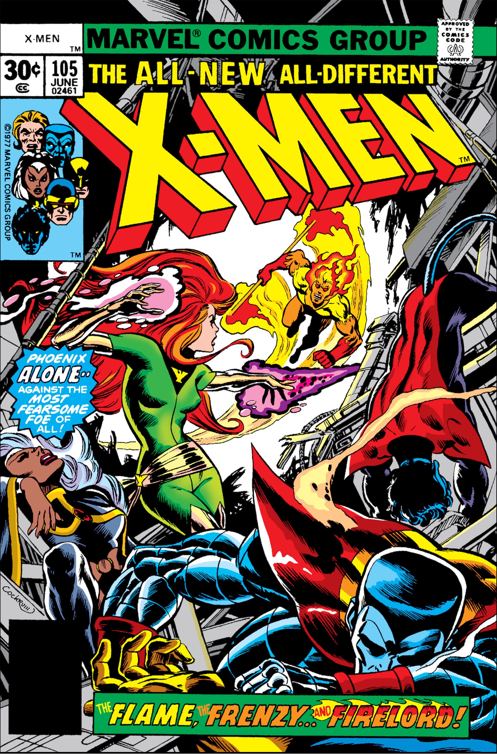 Uncanny X-Men (1963) 105 Page 1