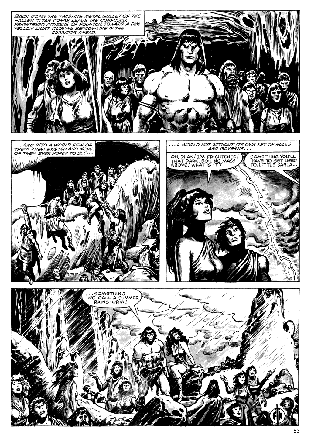 The Savage Sword Of Conan Issue #72 #73 - English 53