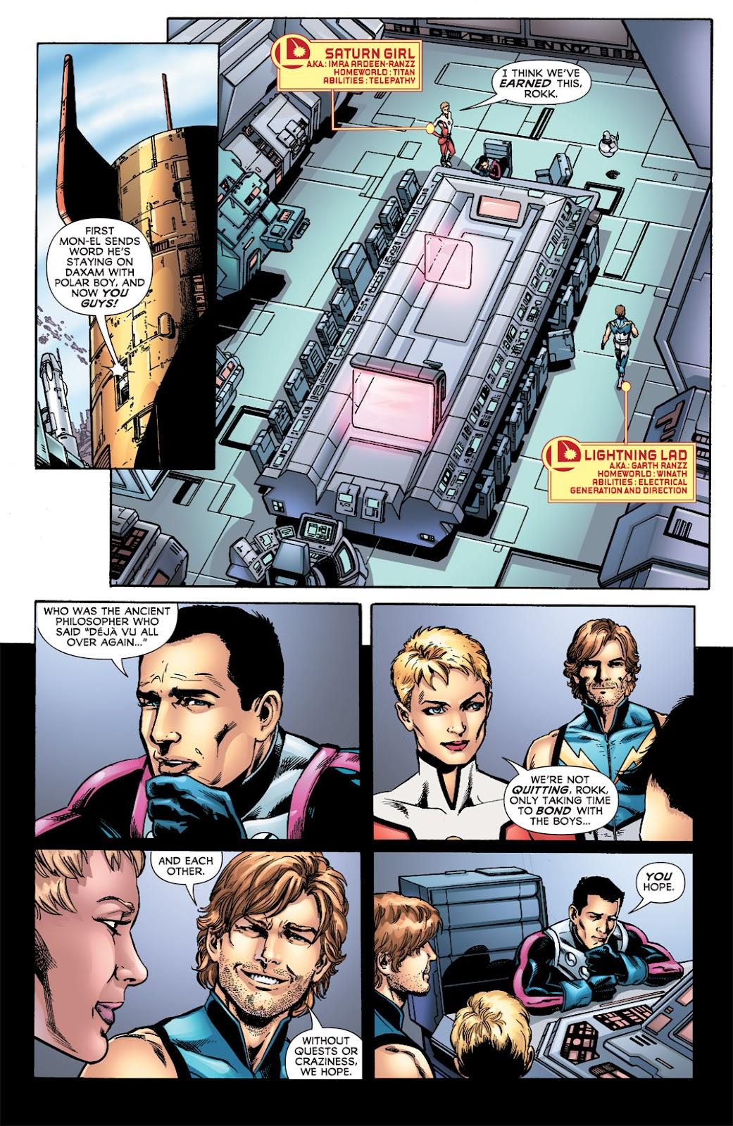 Legion of Super-Heroes (2010) Issue #6 #7 - English 29