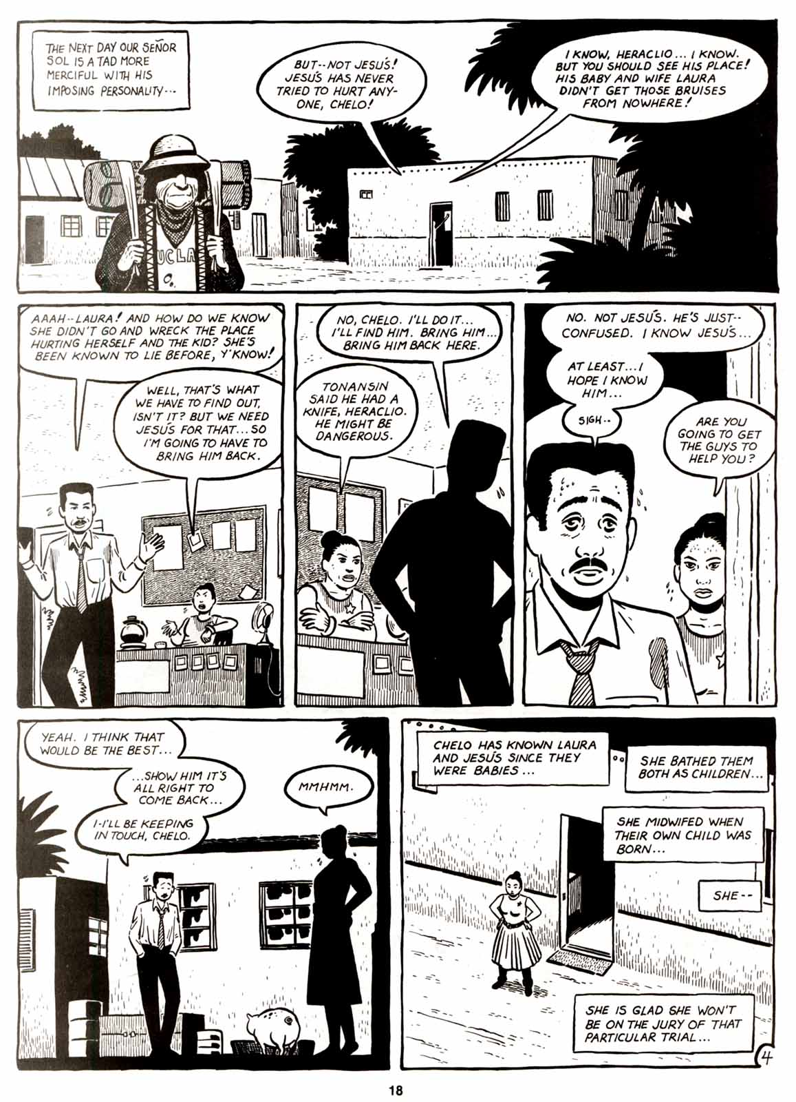 Love and Rockets (1982) Issue #8 #7 - English 20
