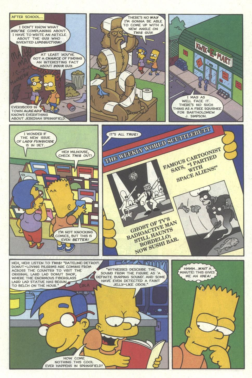 Read online Simpsons Comics comic -  Issue #19 - 6