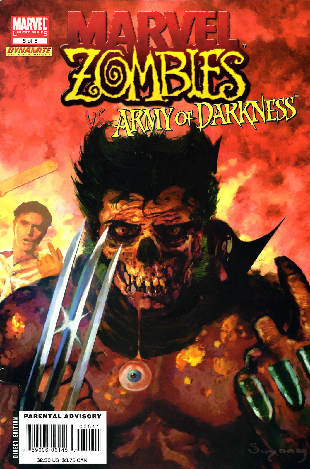 Marvel Zombies/Army of Darkness issue 5 - Page 1