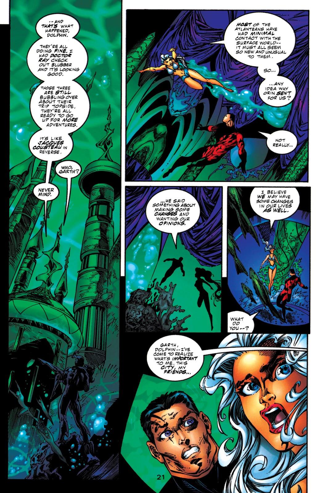 Aquaman (1994) Issue #54 #60 - English 22