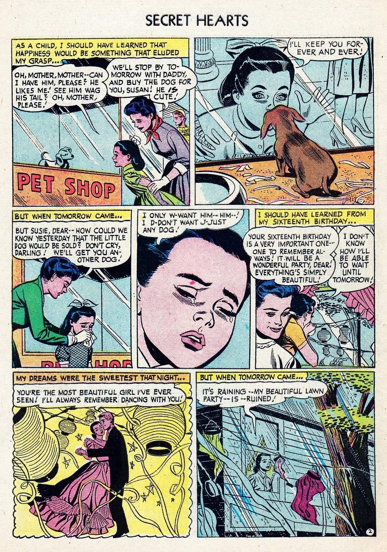 Read online Secret Hearts comic -  Issue #29 - 28
