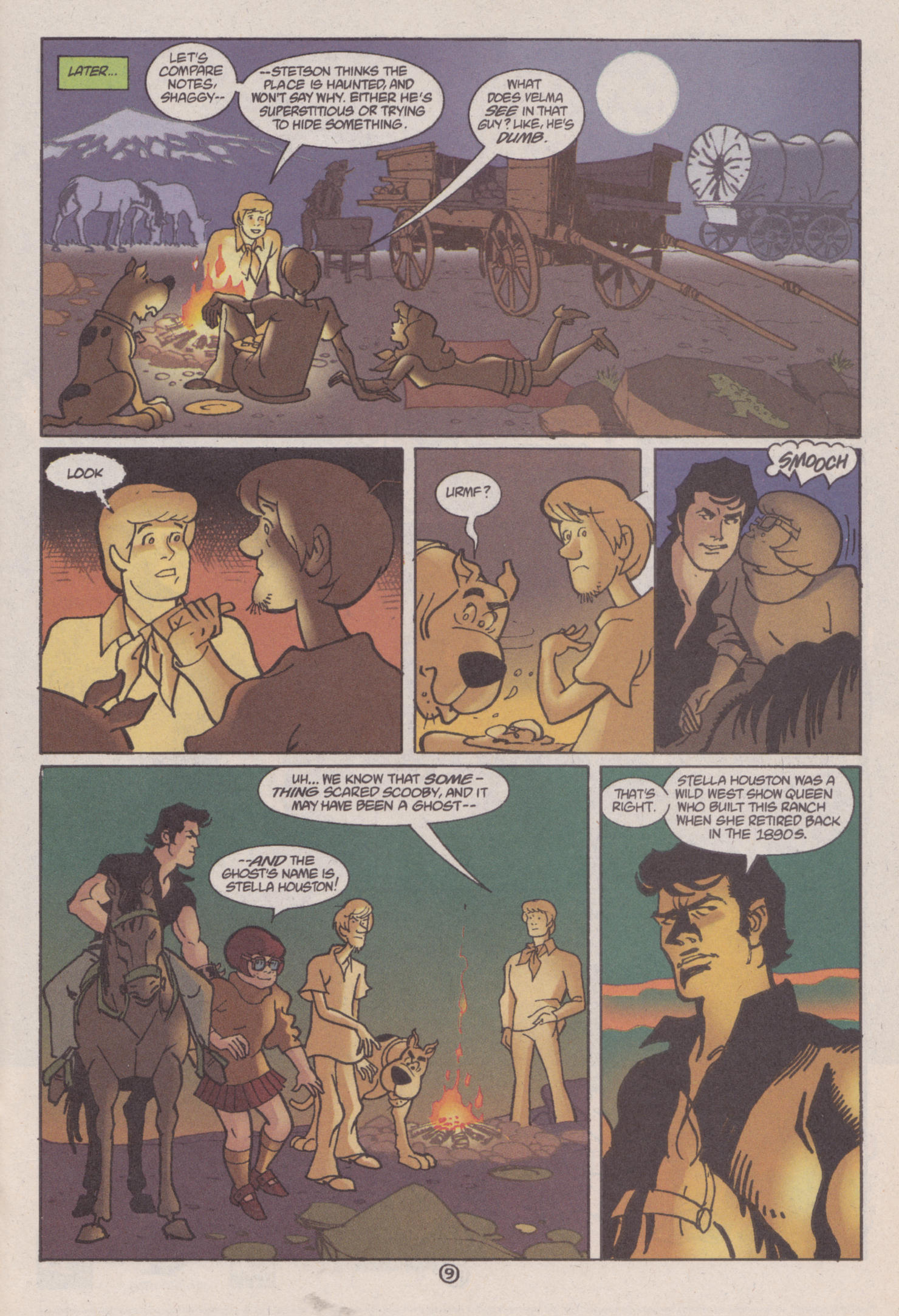 Read online Scooby-Doo (1997) comic -  Issue #6 - 10