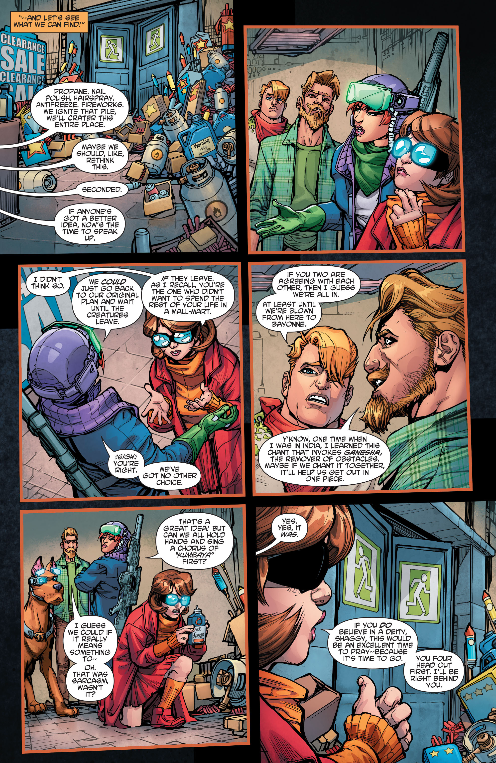 Read online Scooby Apocalypse comic -  Issue #7 - 12