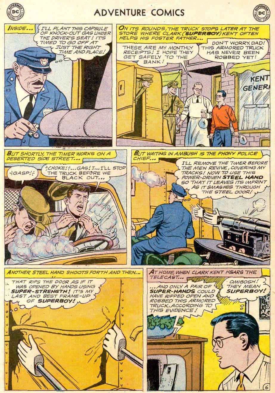 Read online Adventure Comics (1938) comic -  Issue #256 - 8