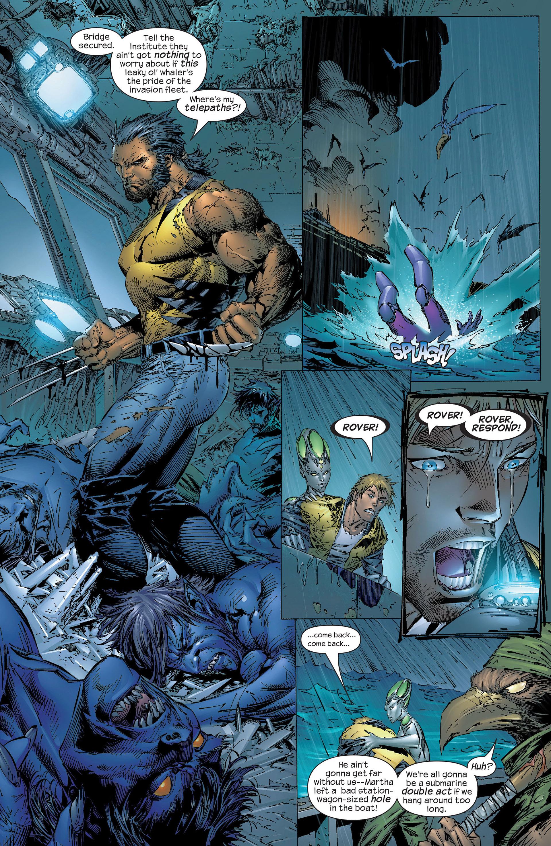 Read online New X-Men (2001) comic -  Issue #153 - 17