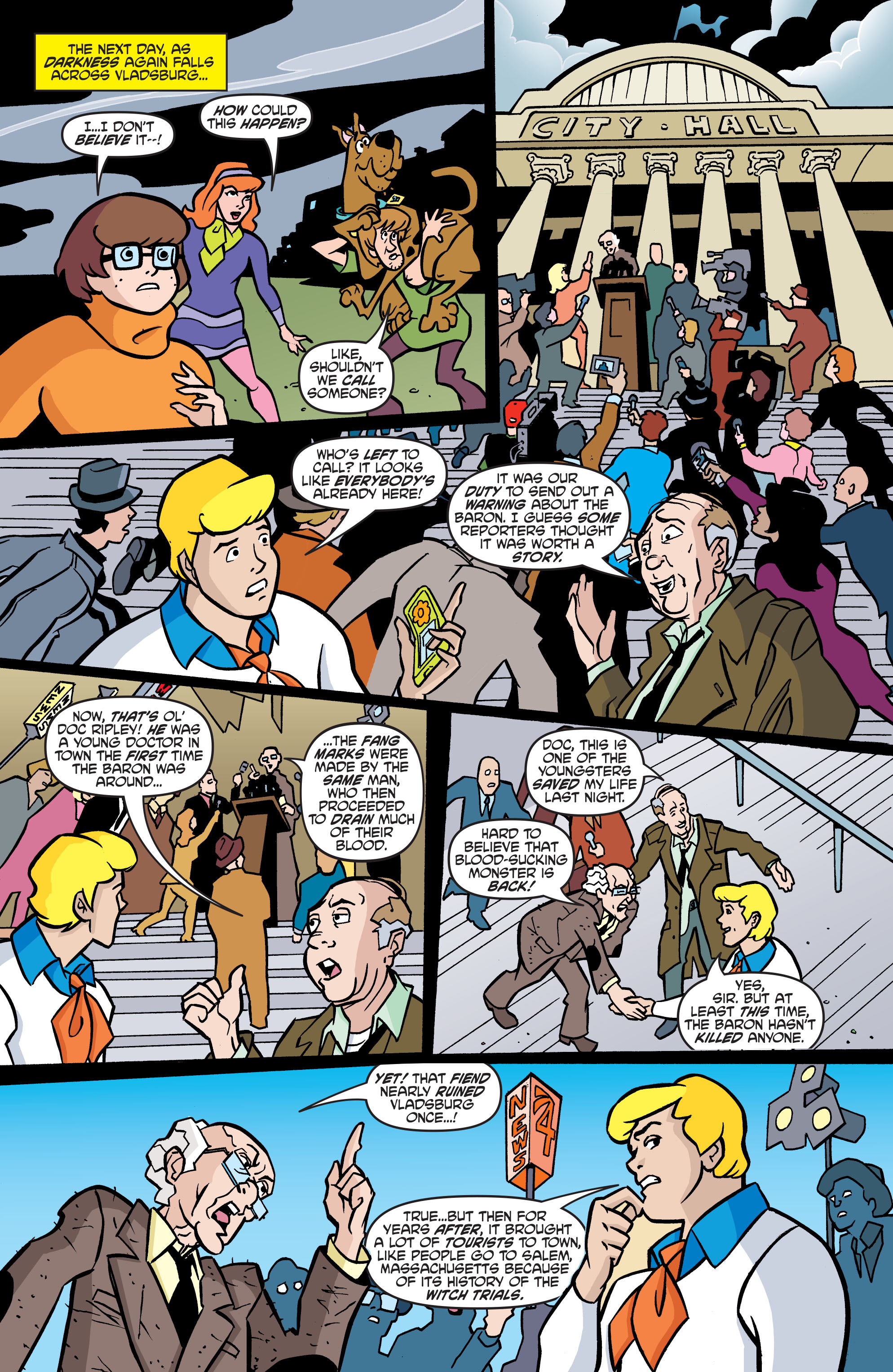 Read online Scooby-Doo: Where Are You? comic -  Issue #57 - 17