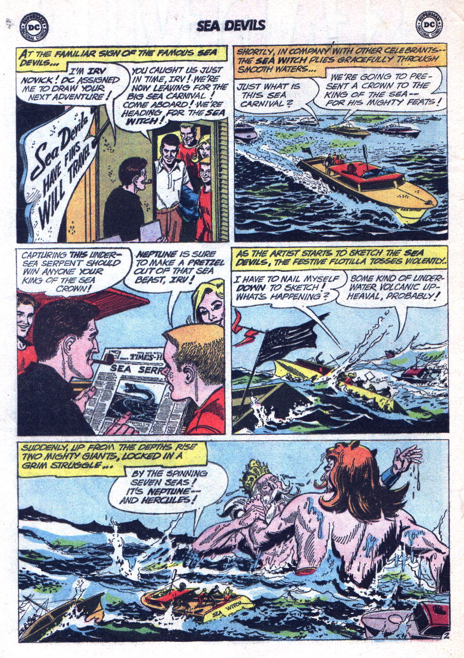 Read online Sea Devils comic -  Issue #14 - 4