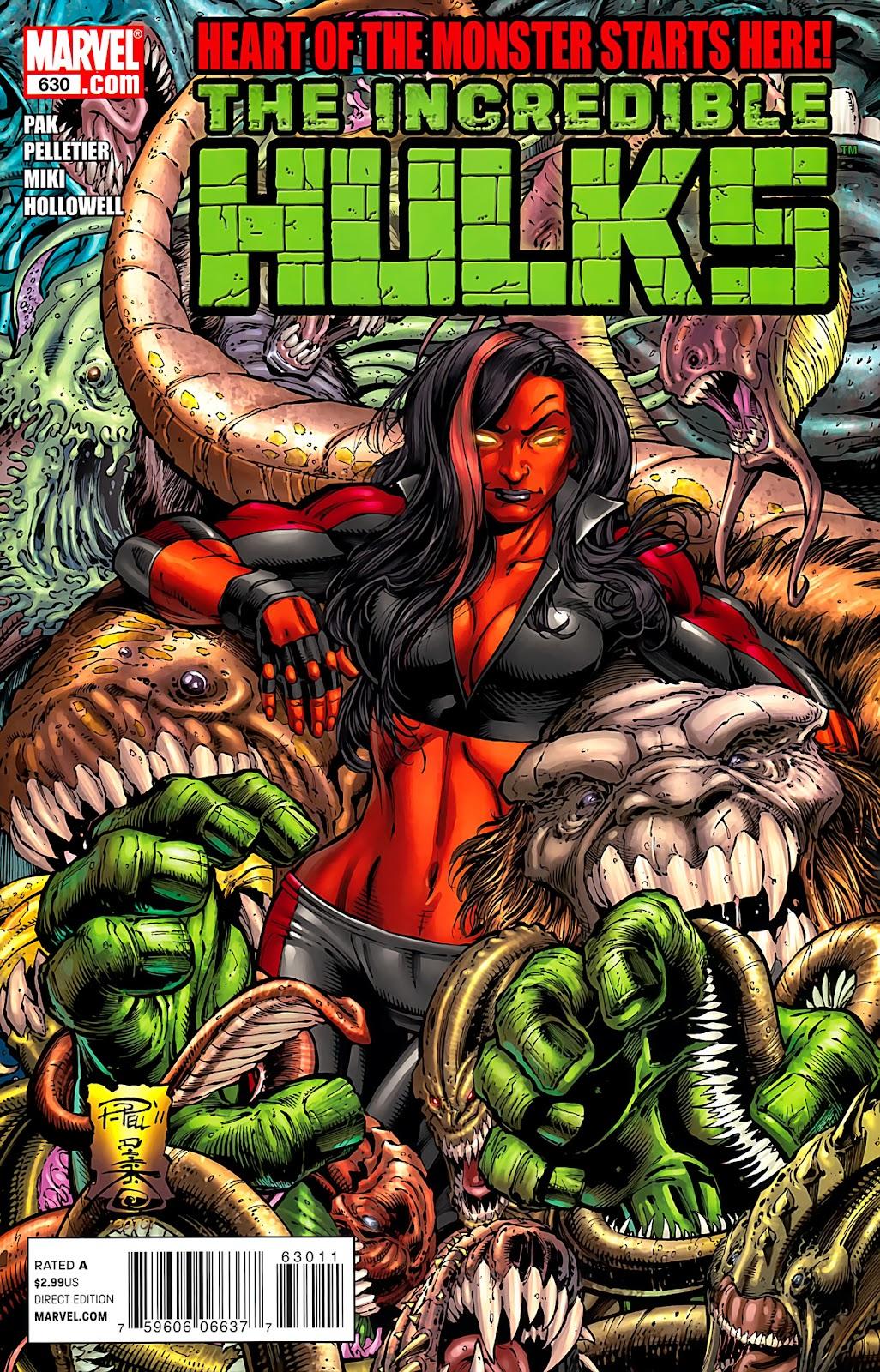 Incredible Hulks (2010) Issue #630 #20 - English 1