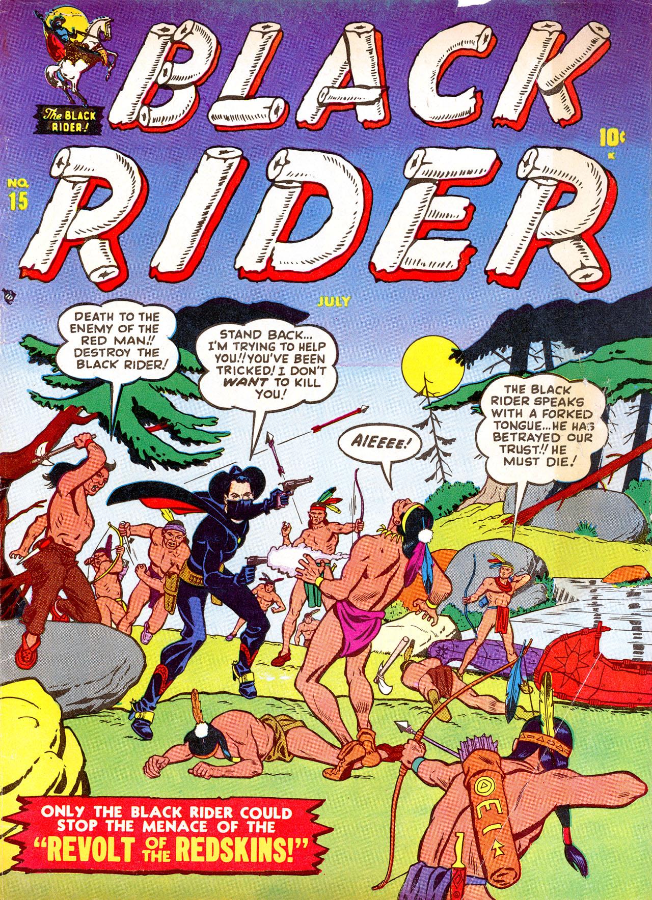 Black Rider 15 Page 1