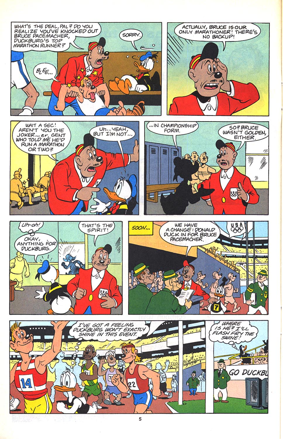Uncle Scrooge (1953) Issue #270 #270 - English 6