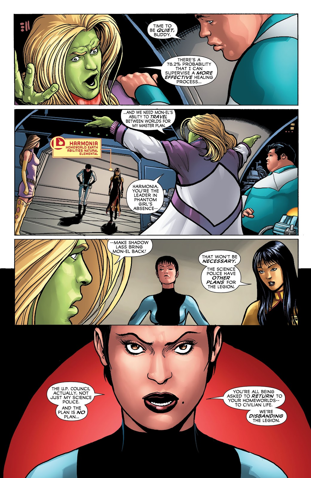 Legion of Super-Heroes (2011) Issue #23 #24 - English 12