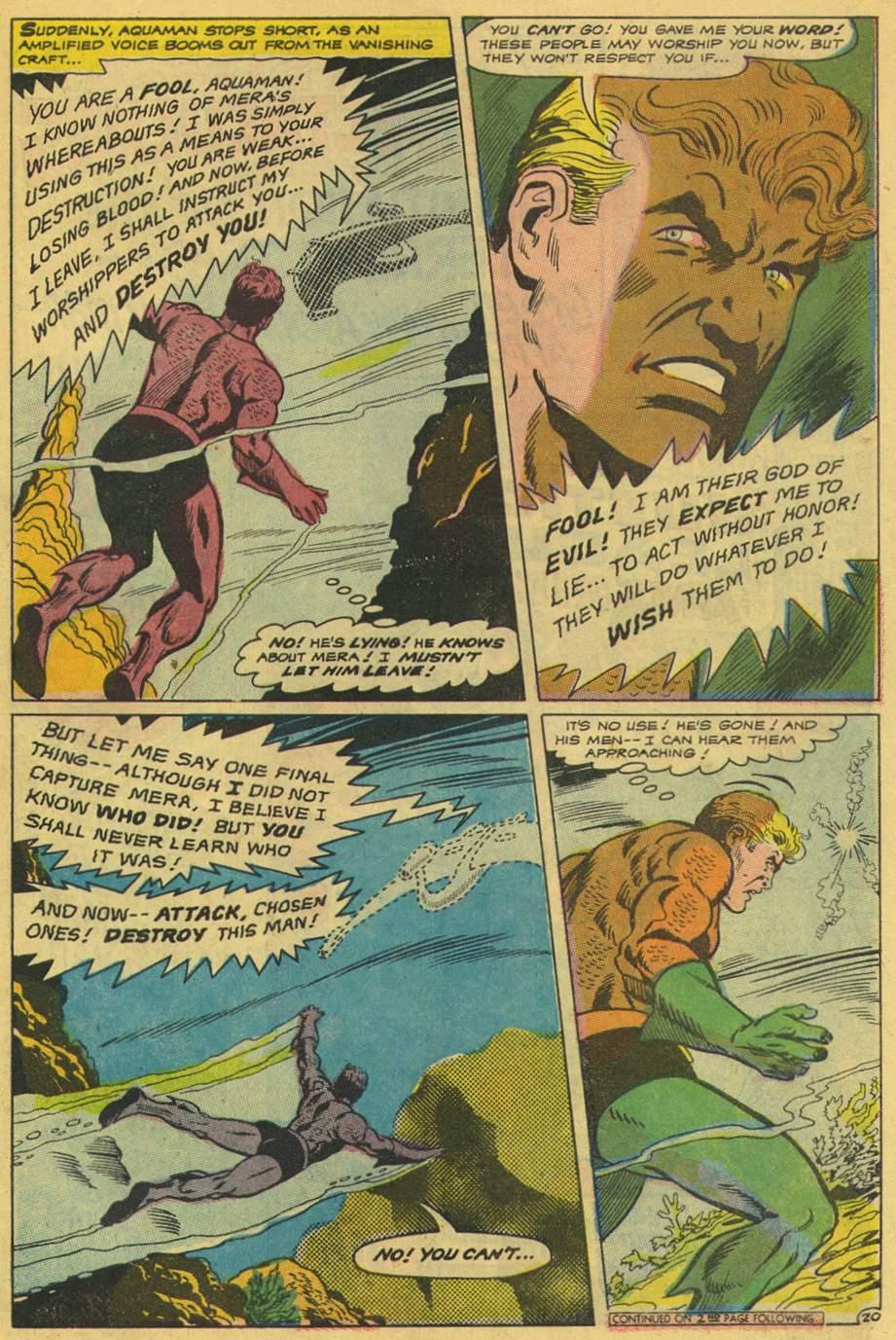 Aquaman (1962) Issue #42 #42 - English 27