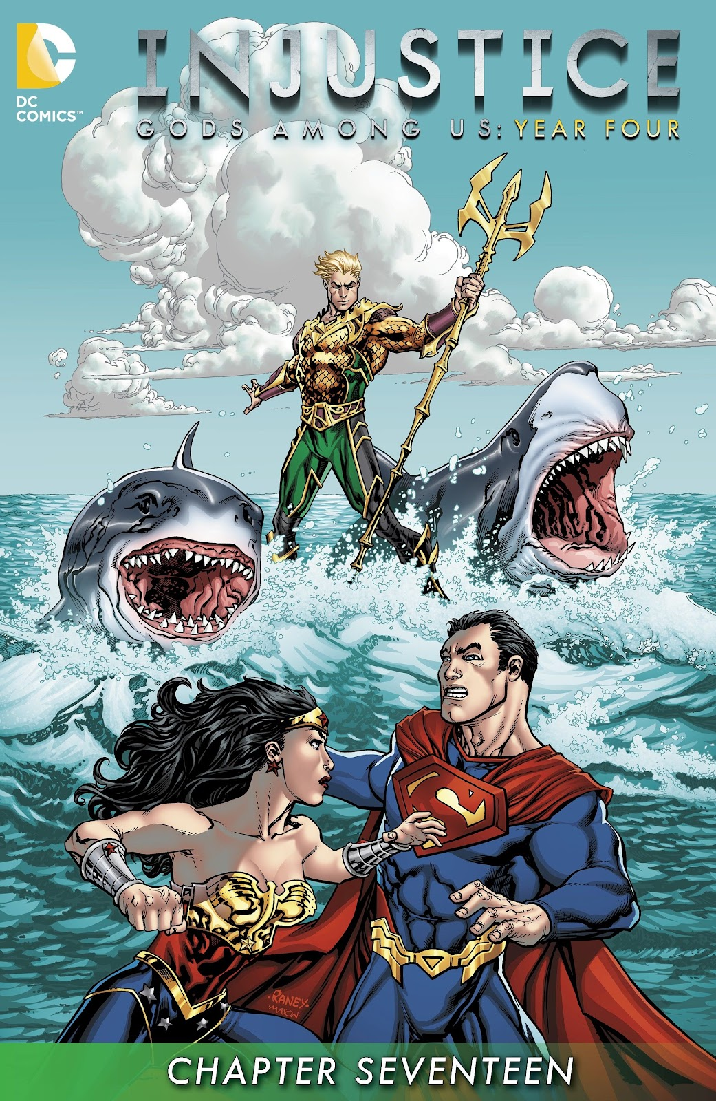 Injustice: Gods Among Us Year Four Issue #17 #18 - English 2