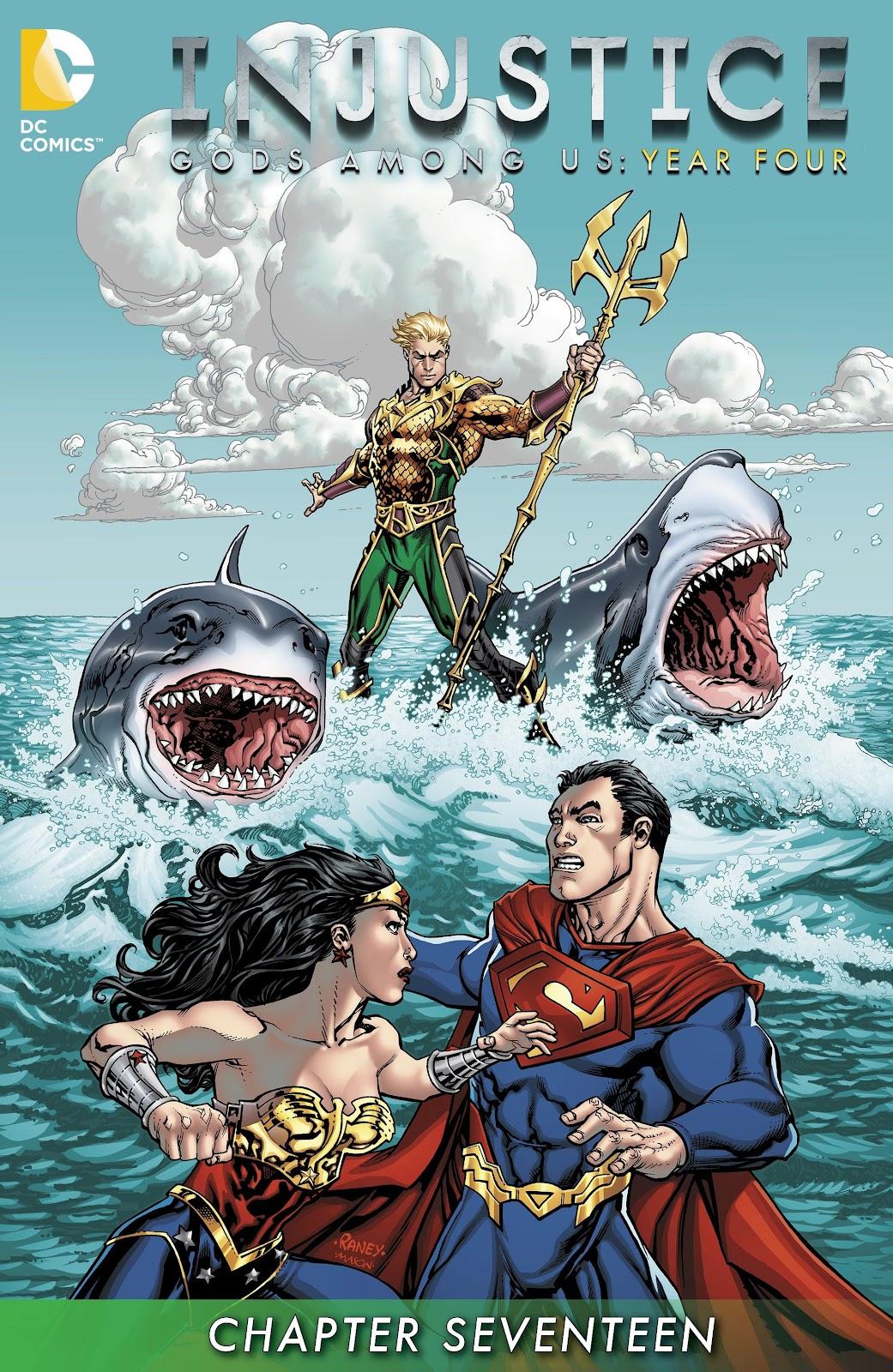 Injustice: Gods Among Us Year Four Issue #17 #18 - English 2