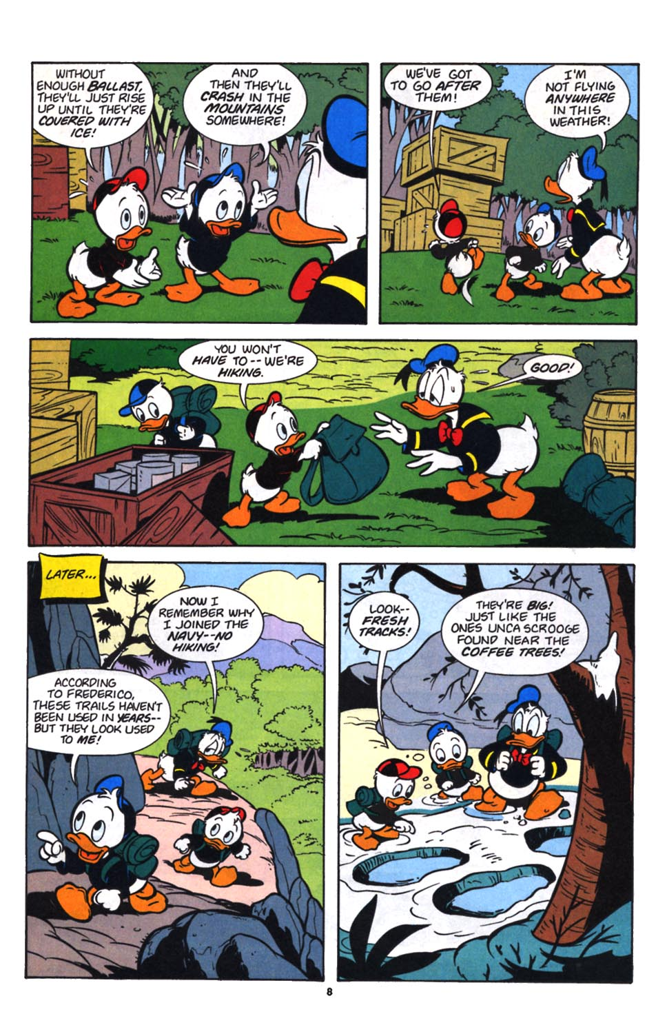Uncle Scrooge (1953) Issue #257 #257 - English 10