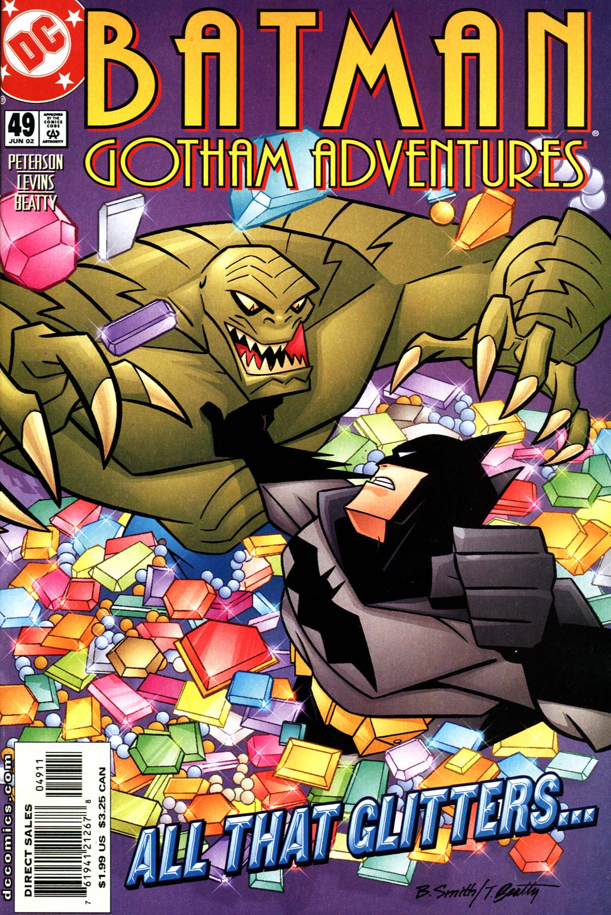 Batman: Gotham Adventures 49 Page 1