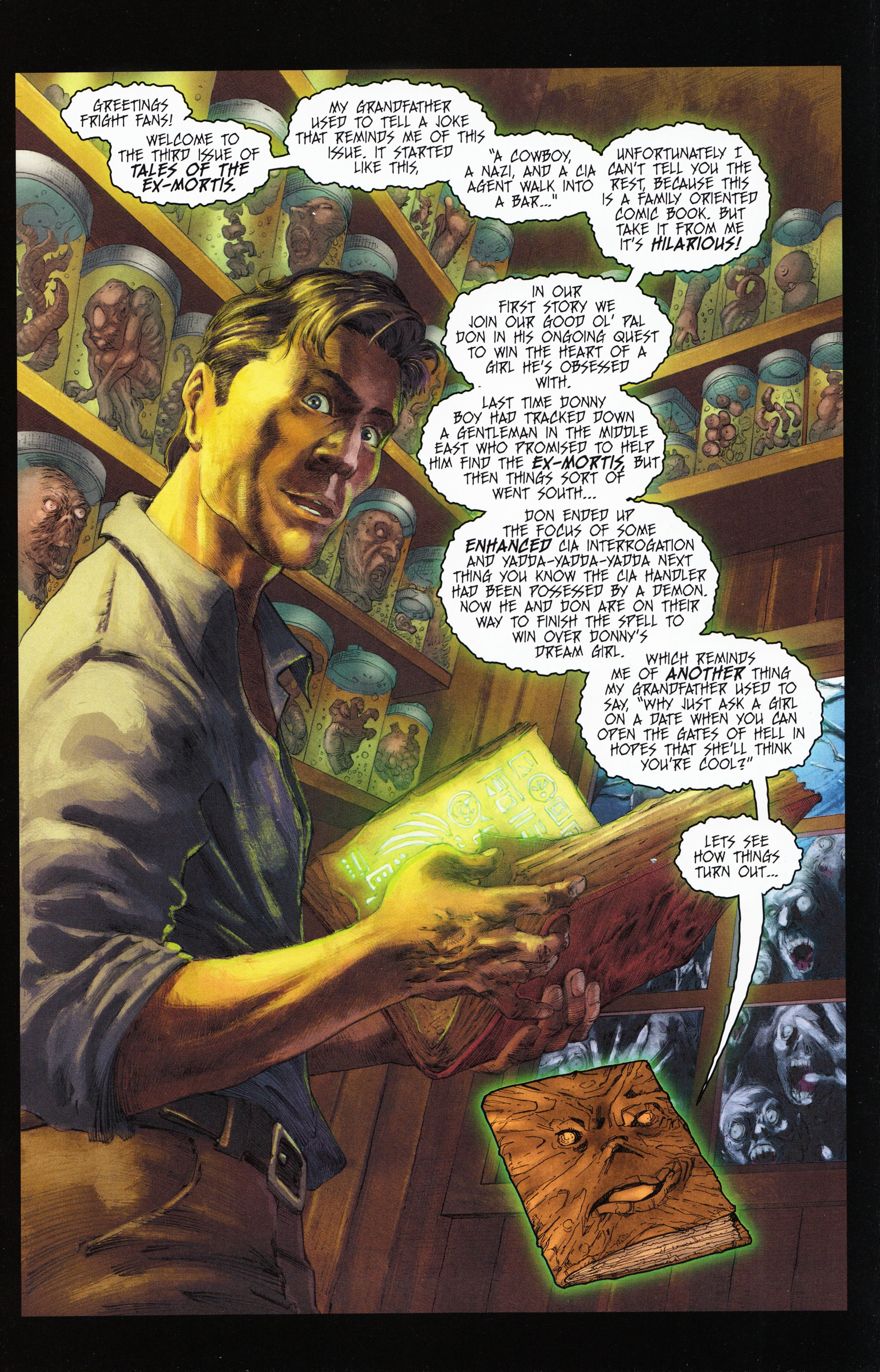 Read online Evil Dead 2: Tales of the Ex-Mortis comic -  Issue #3 - 3