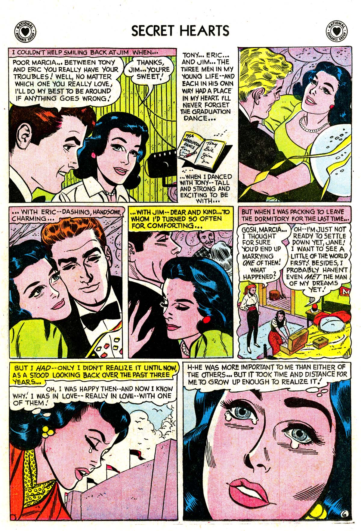 Read online Secret Hearts comic -  Issue #42 - 24