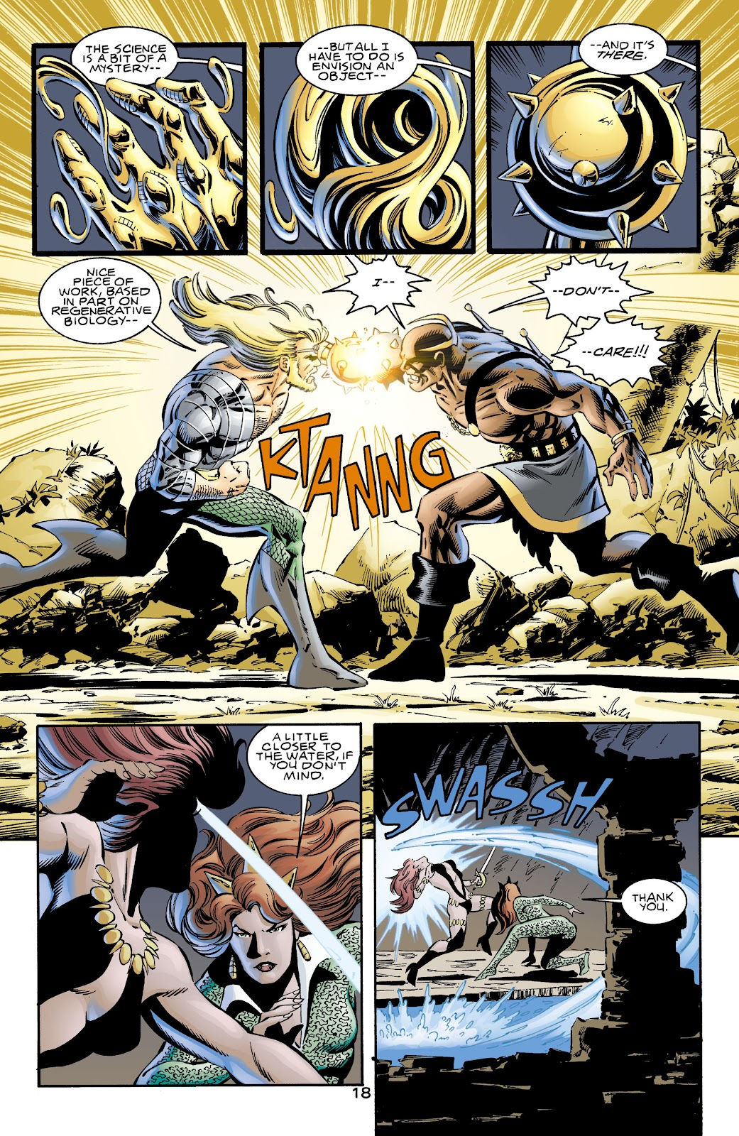 Aquaman (1994) Issue #72 #78 - English 17