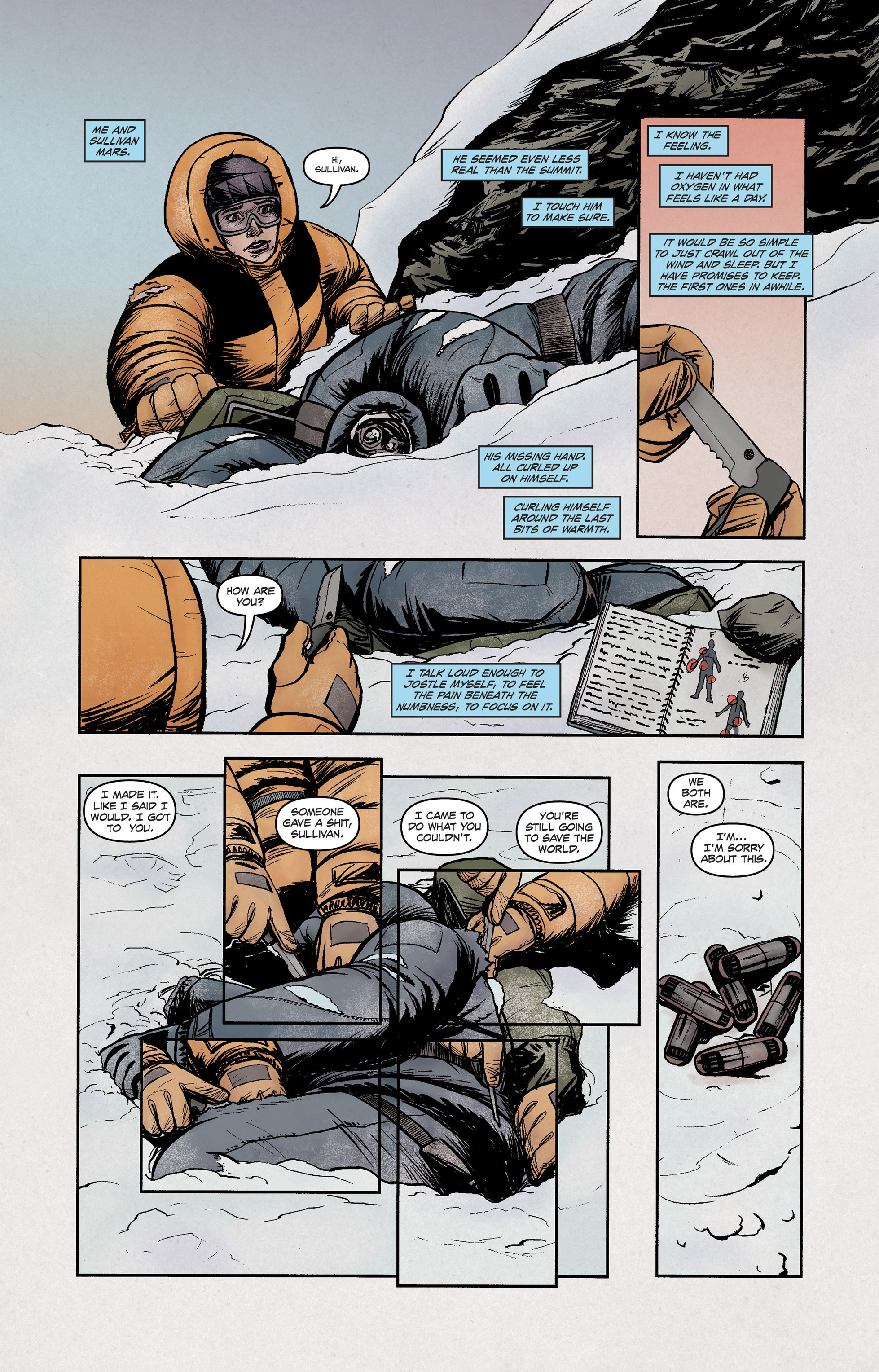 Read online High Crimes comic -  Issue #12 - 10