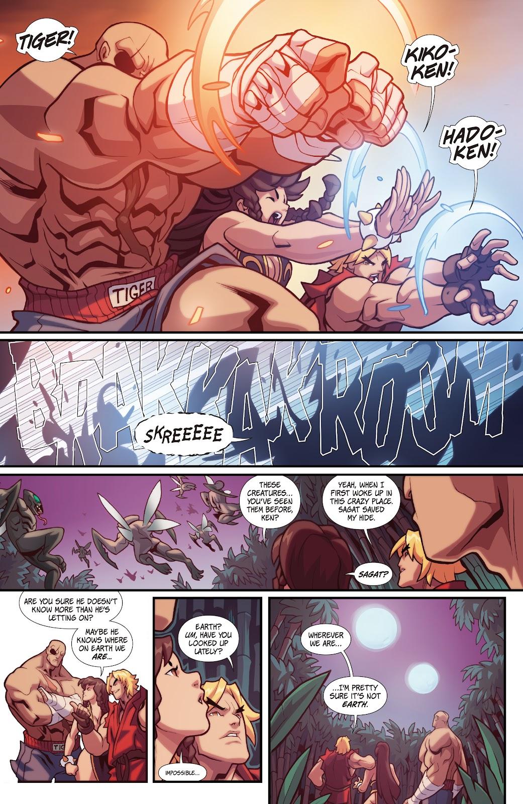 Street Fighter VS Darkstalkers Issue #1 #2 - English 9