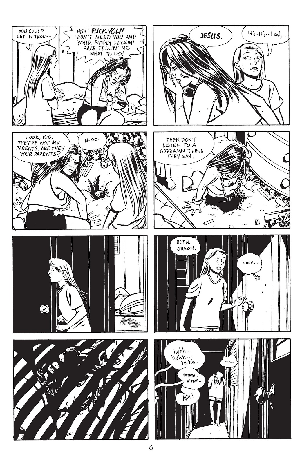 Stray Bullets Issue #14 #14 - English 8