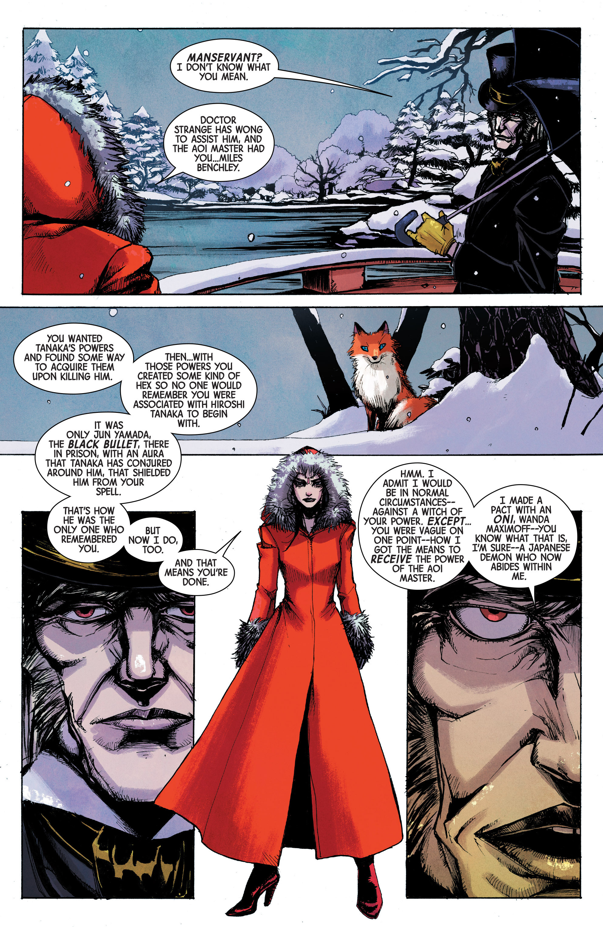 Read online Scarlet Witch (2016) comic -  Issue #10 - 15