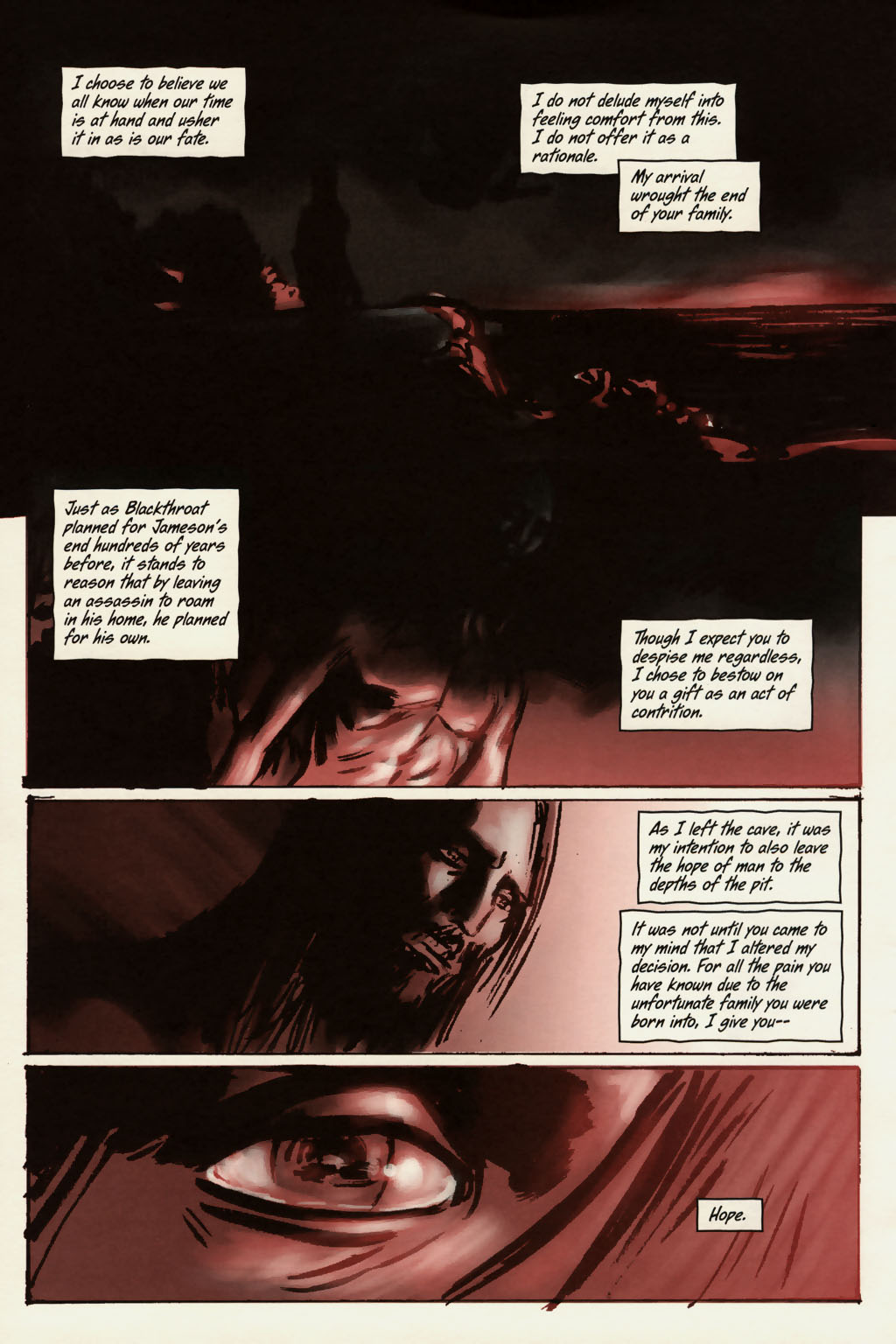 Read online Sea of Red comic -  Issue #13 - 21