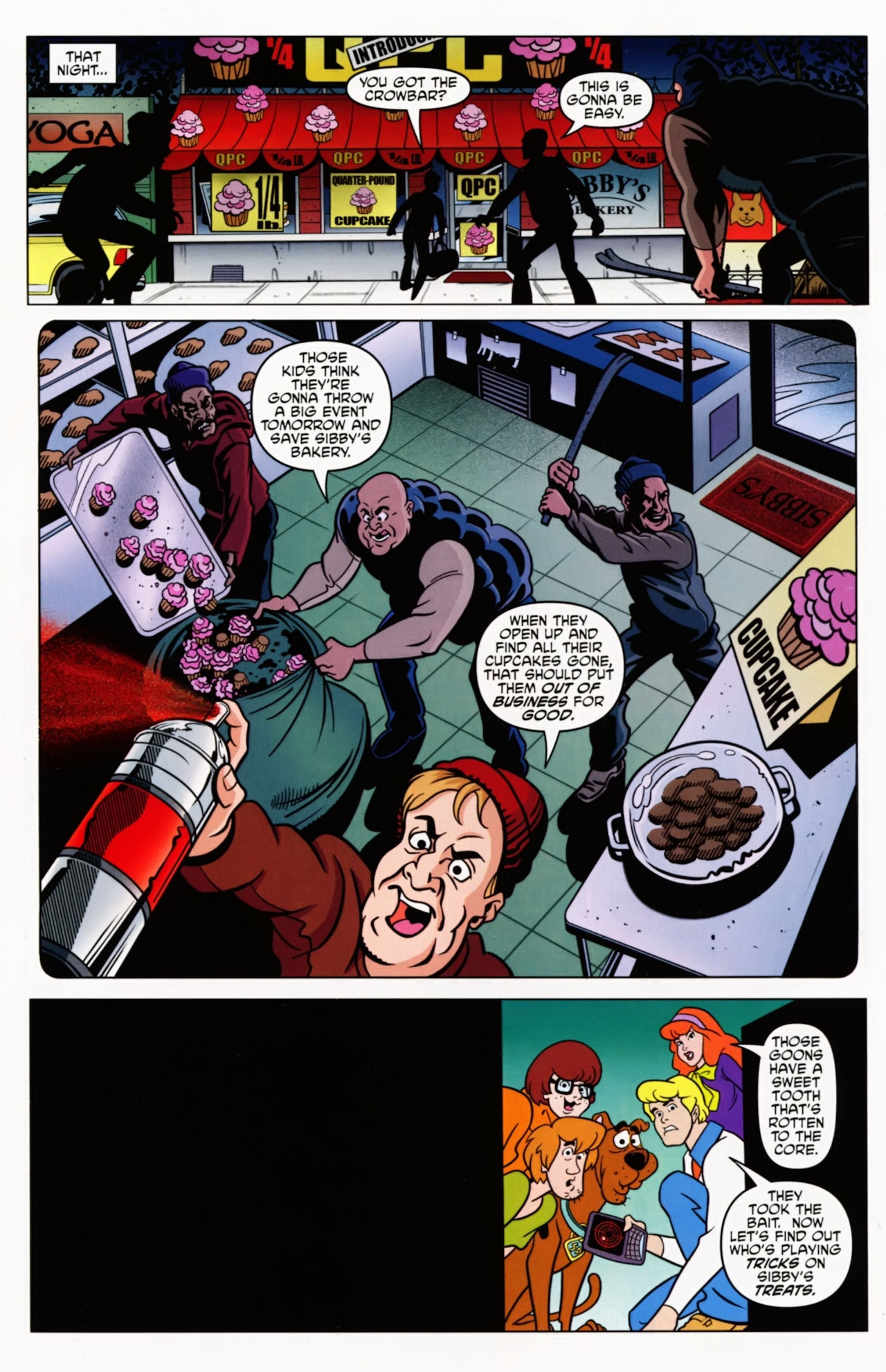 Read online Scooby-Doo: Where Are You? comic -  Issue #8 - 12