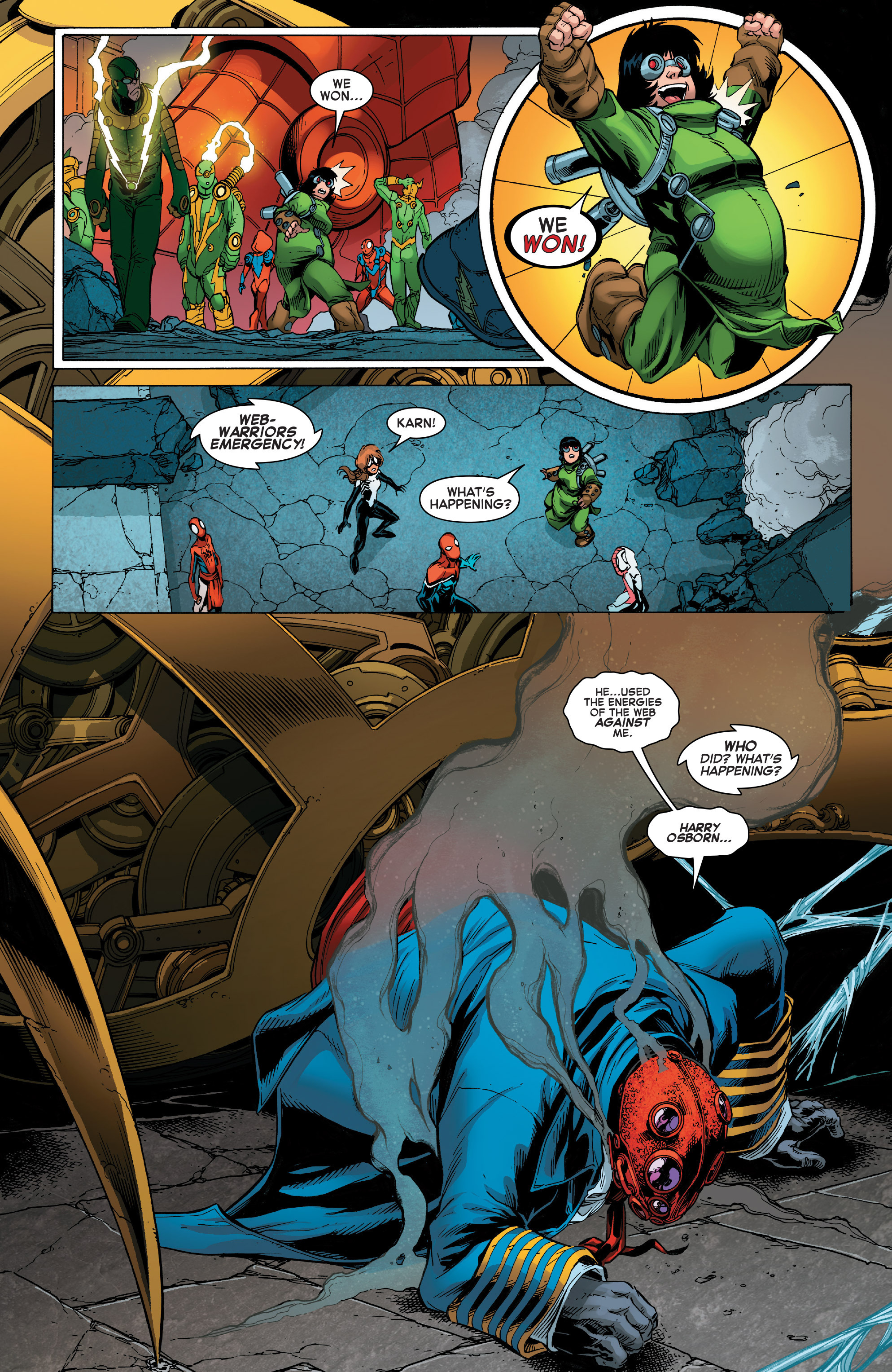 Read online Web Warriors comic -  Issue #11 - 13