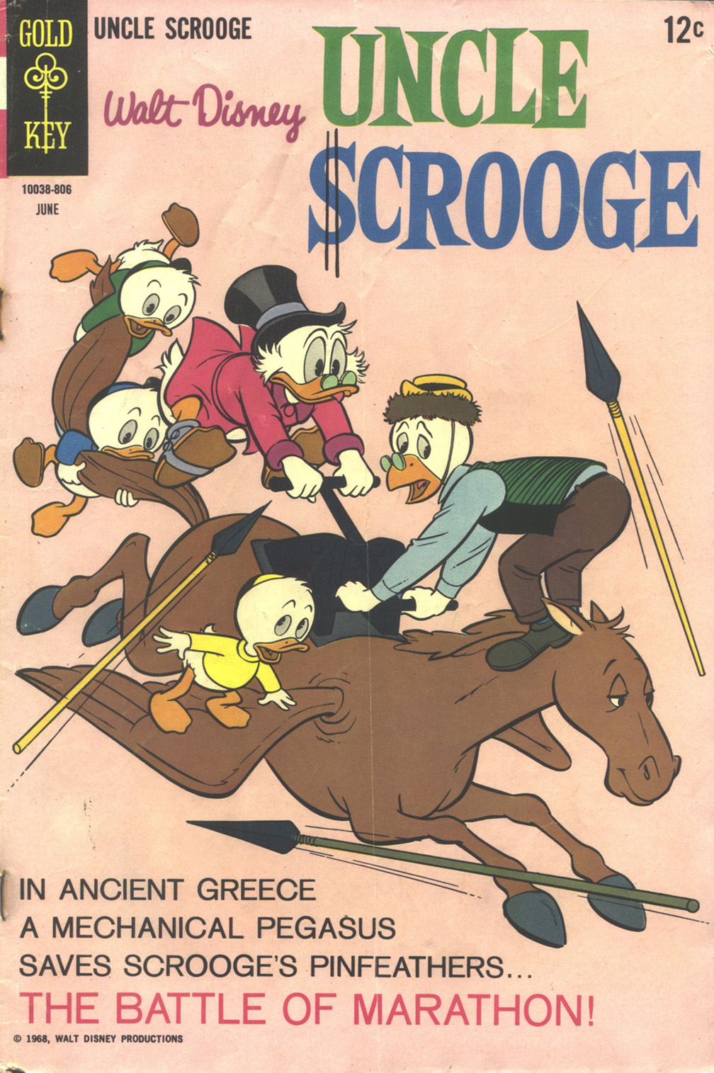 Uncle Scrooge (1953) Issue #75 #75 - English 1