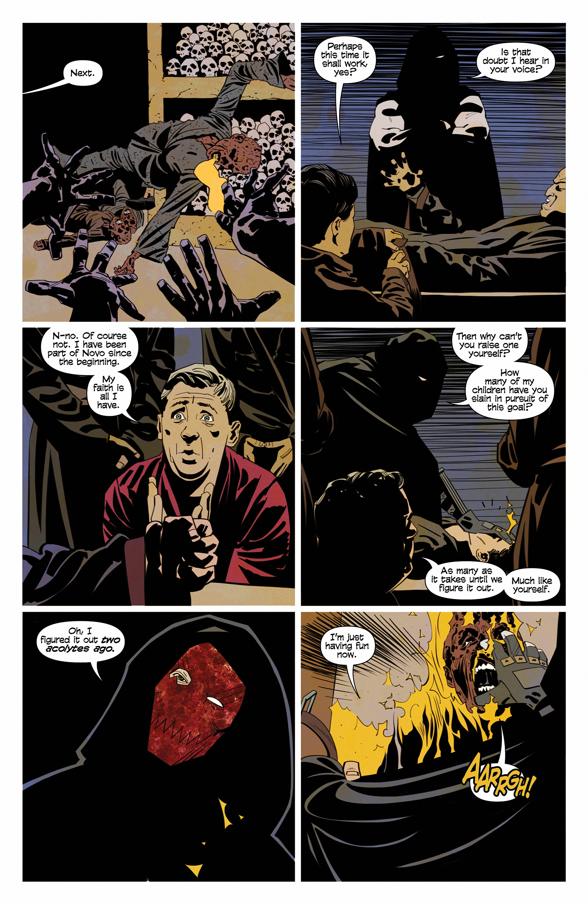 Read online Demonic comic -  Issue #6 - 4