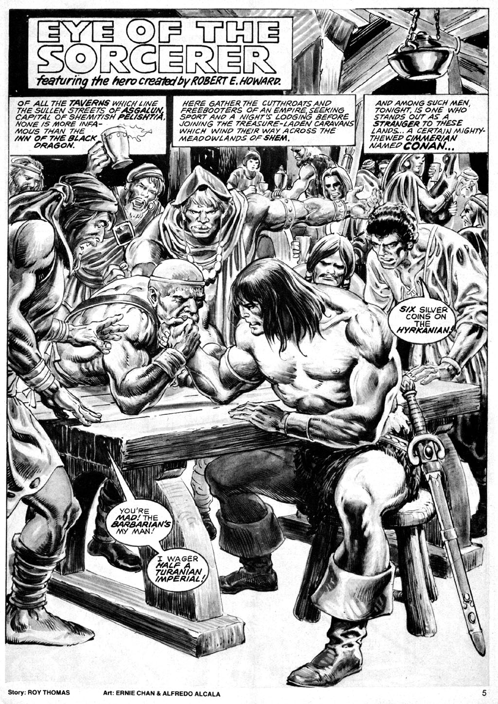 The Savage Sword Of Conan Issue #69 #70 - English 5