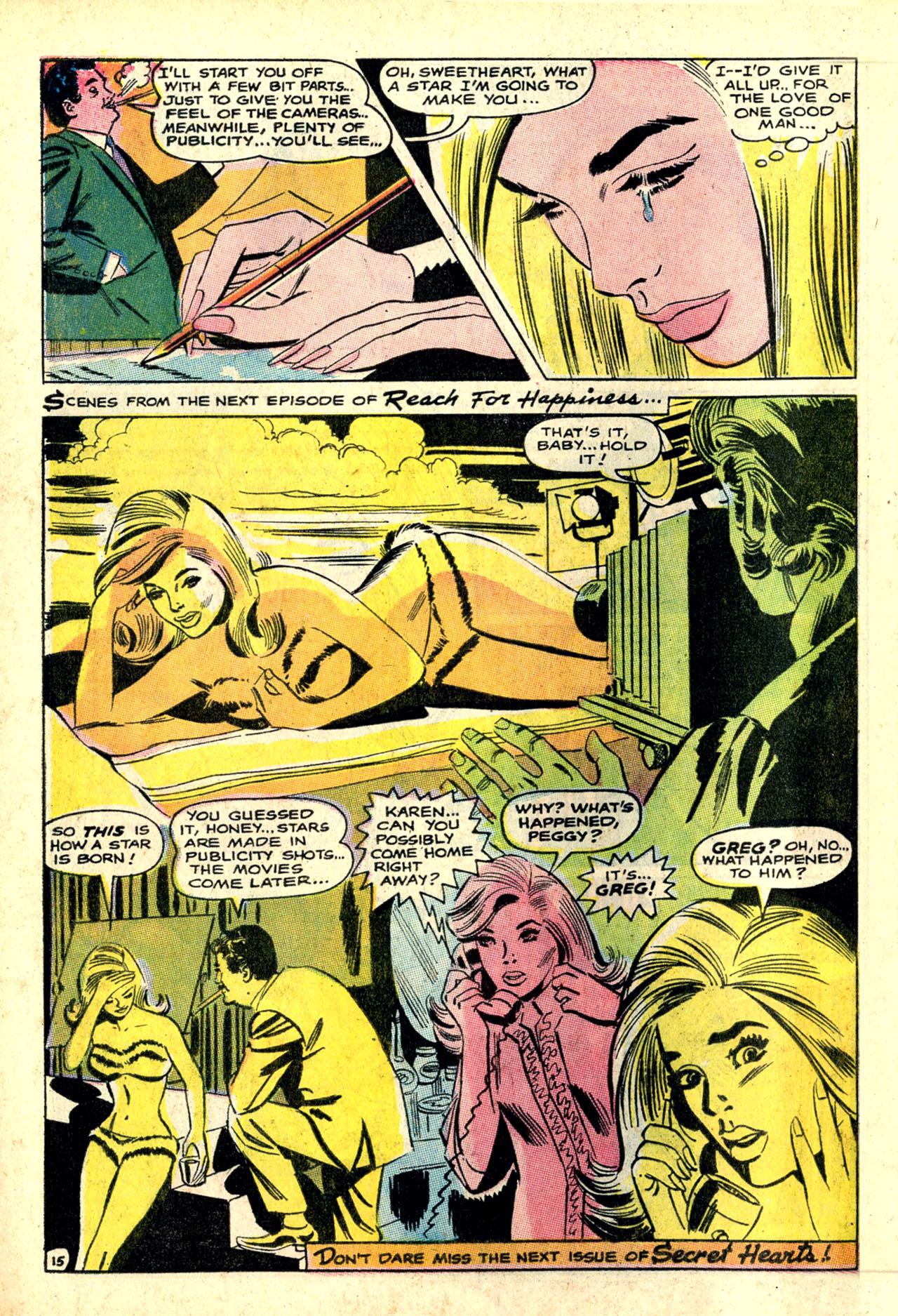 Read online Secret Hearts comic -  Issue #132 - 67