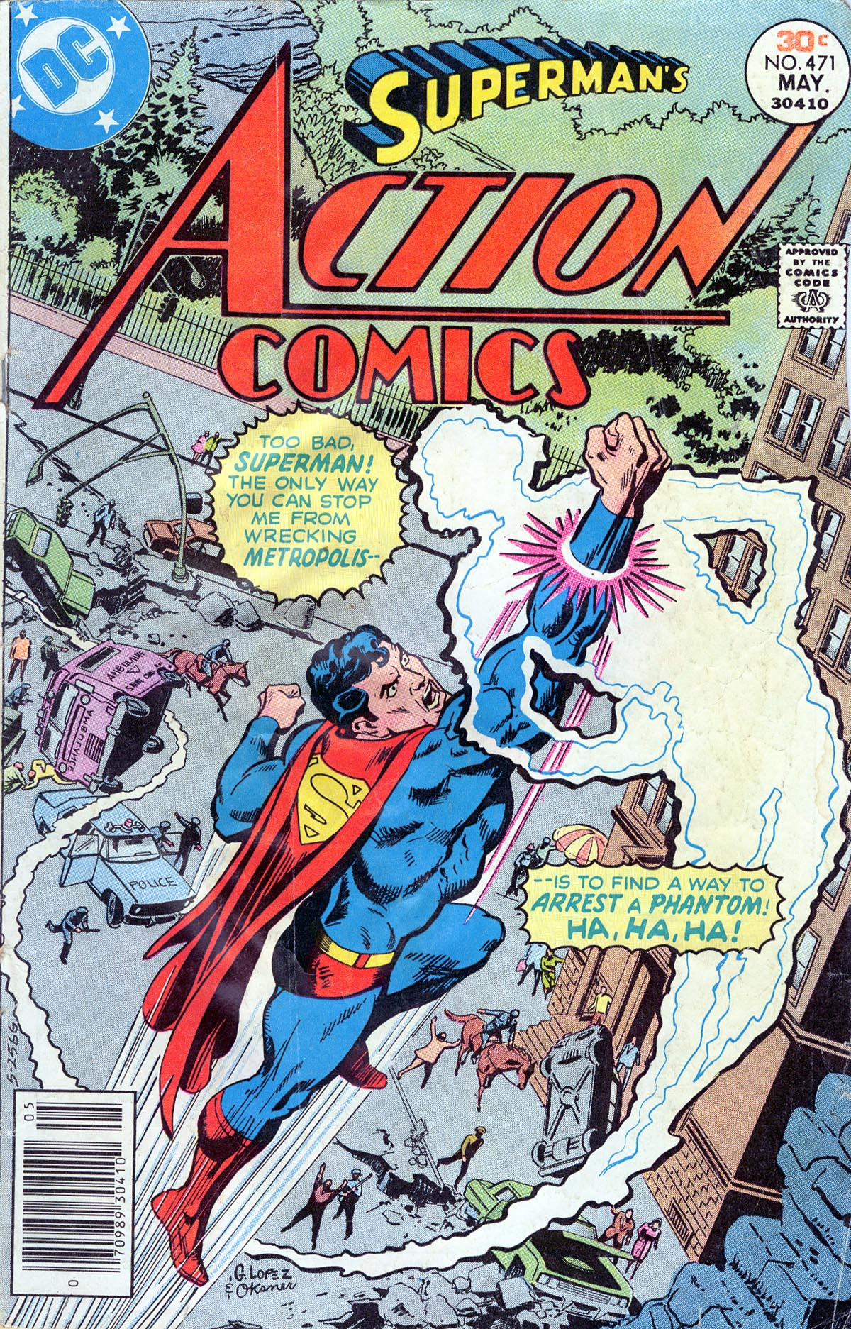 Action Comics (1938) 471 Page 1