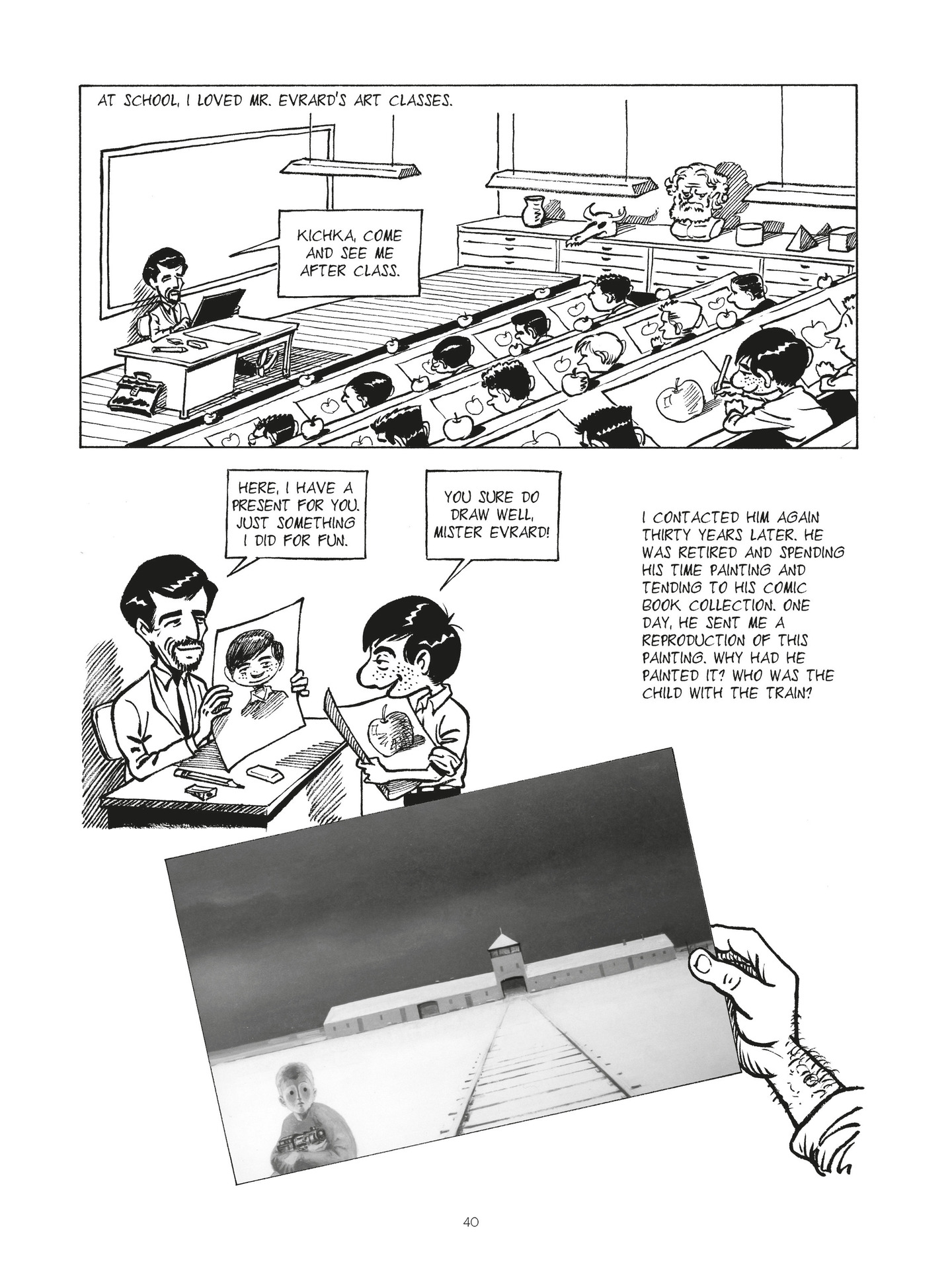 Read online Second Generation - The Things I Didn't Tell My Father comic -  Issue # Full - 39