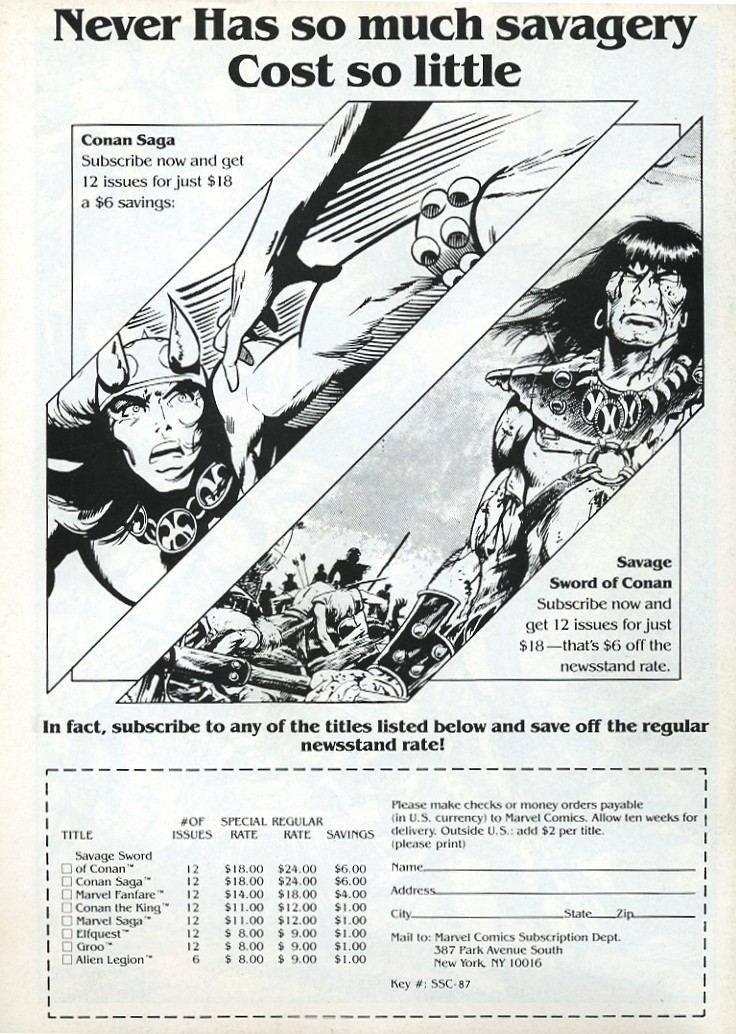 The Savage Sword Of Conan Issue #139 #140 - English 68