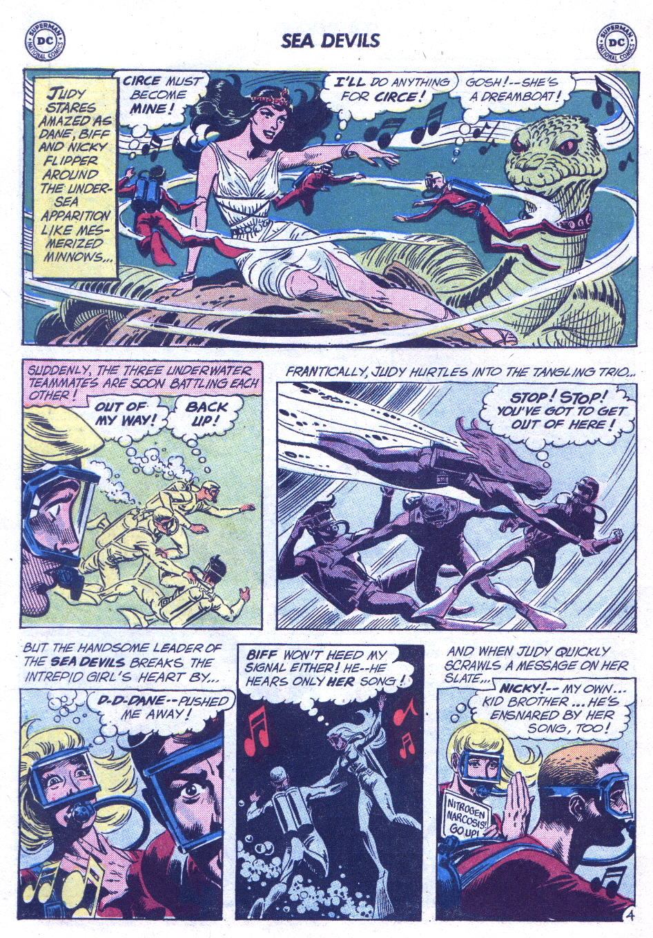 Read online Sea Devils comic -  Issue #3 - 23