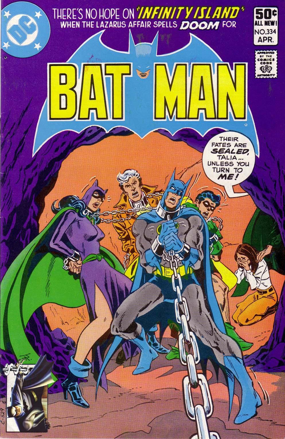 Batman (1940) 334 Page 1