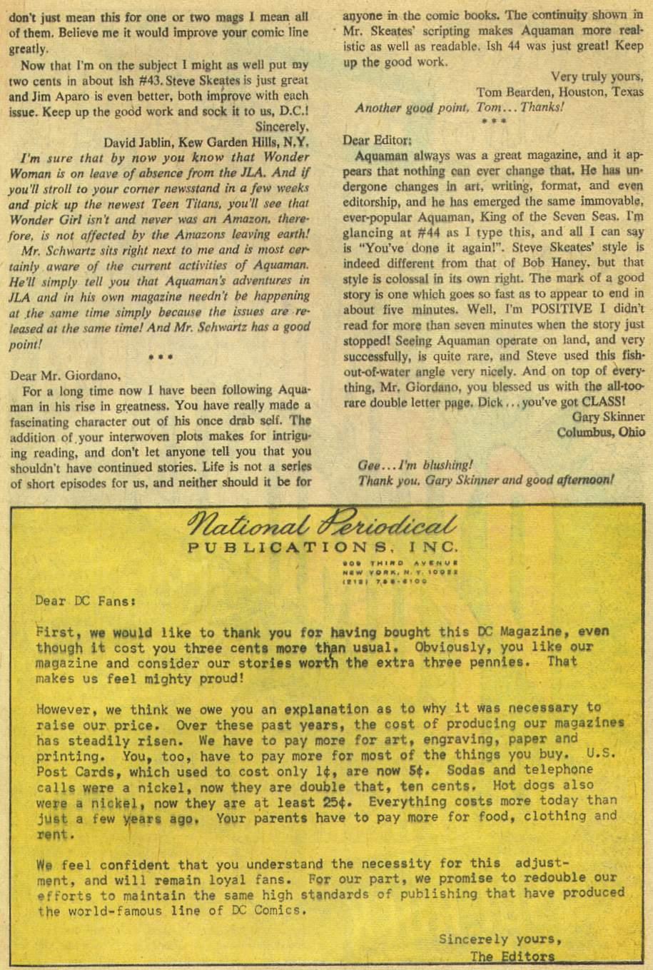 Aquaman (1962) Issue #46 #46 - English 33