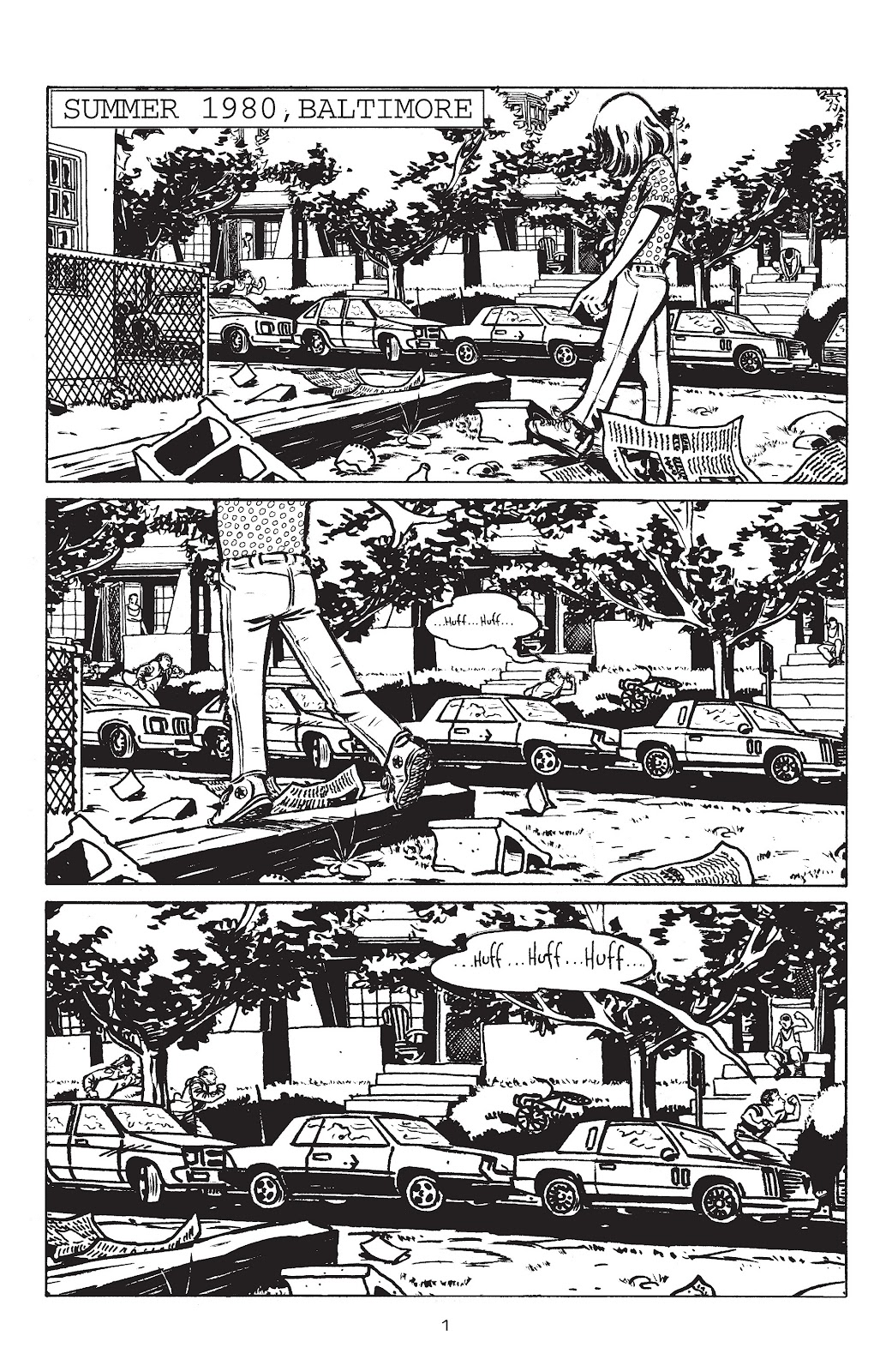 Stray Bullets Issue #3 #3 - English 3